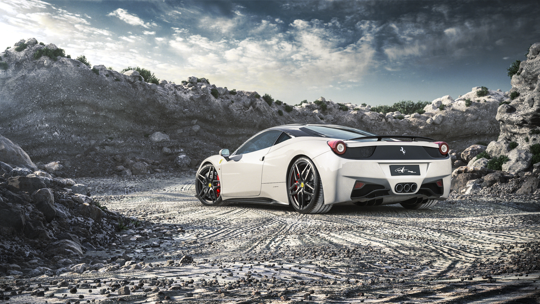 View Ferrari 458 Italia With City Background 4K Wallpaper  Gif