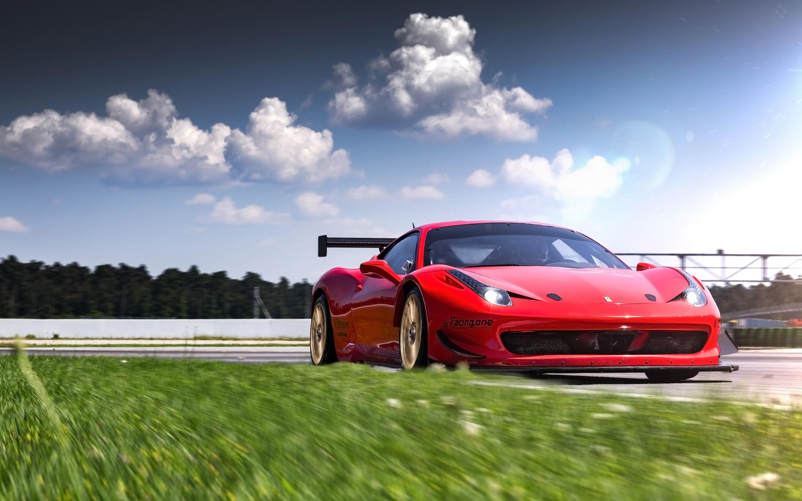 Get Ferrari 458 Wallpaper 2560X1440  Pictures