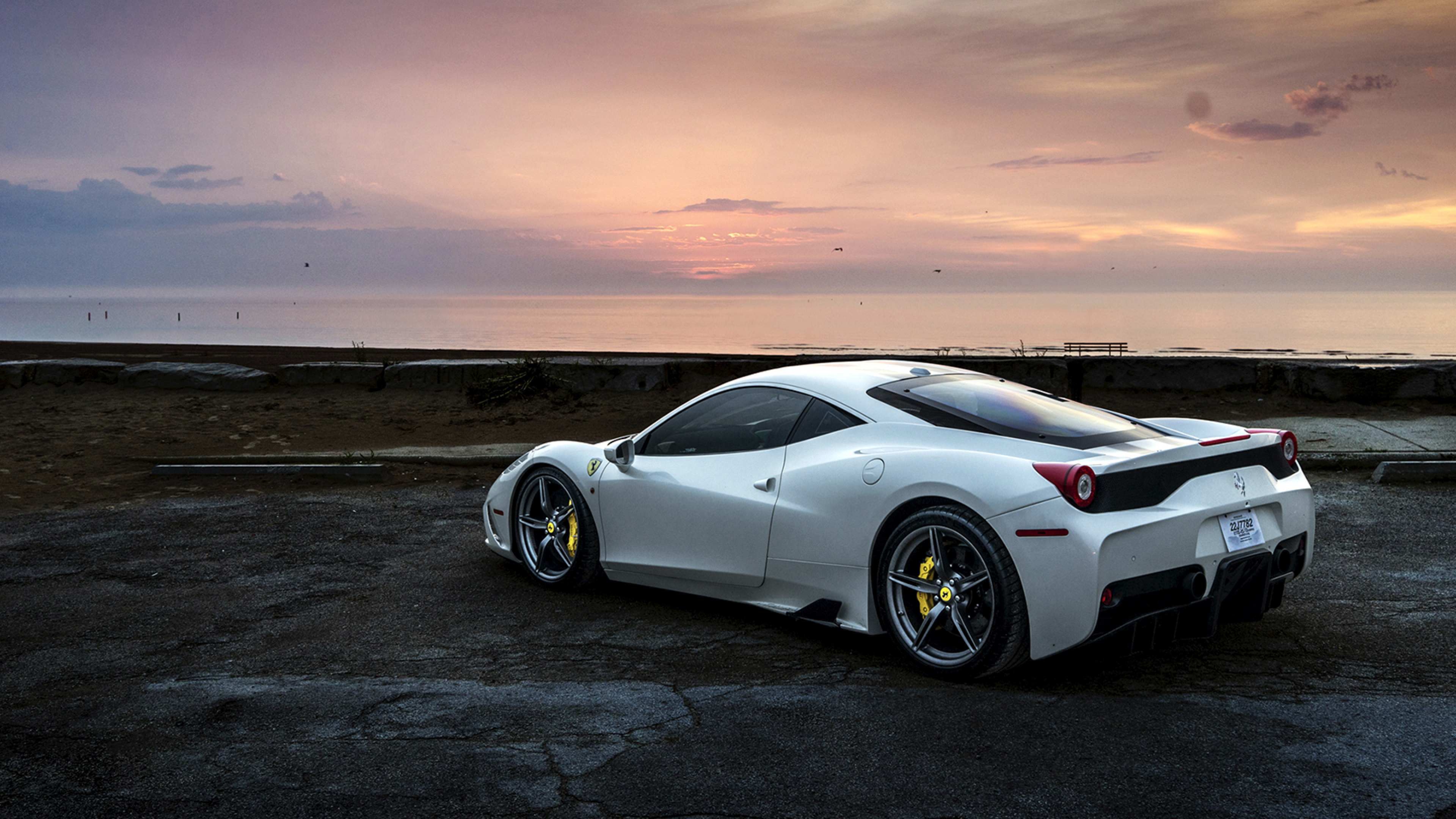 Ferrari 458 White, HD Cars, 4k Wallpapers, Images ...