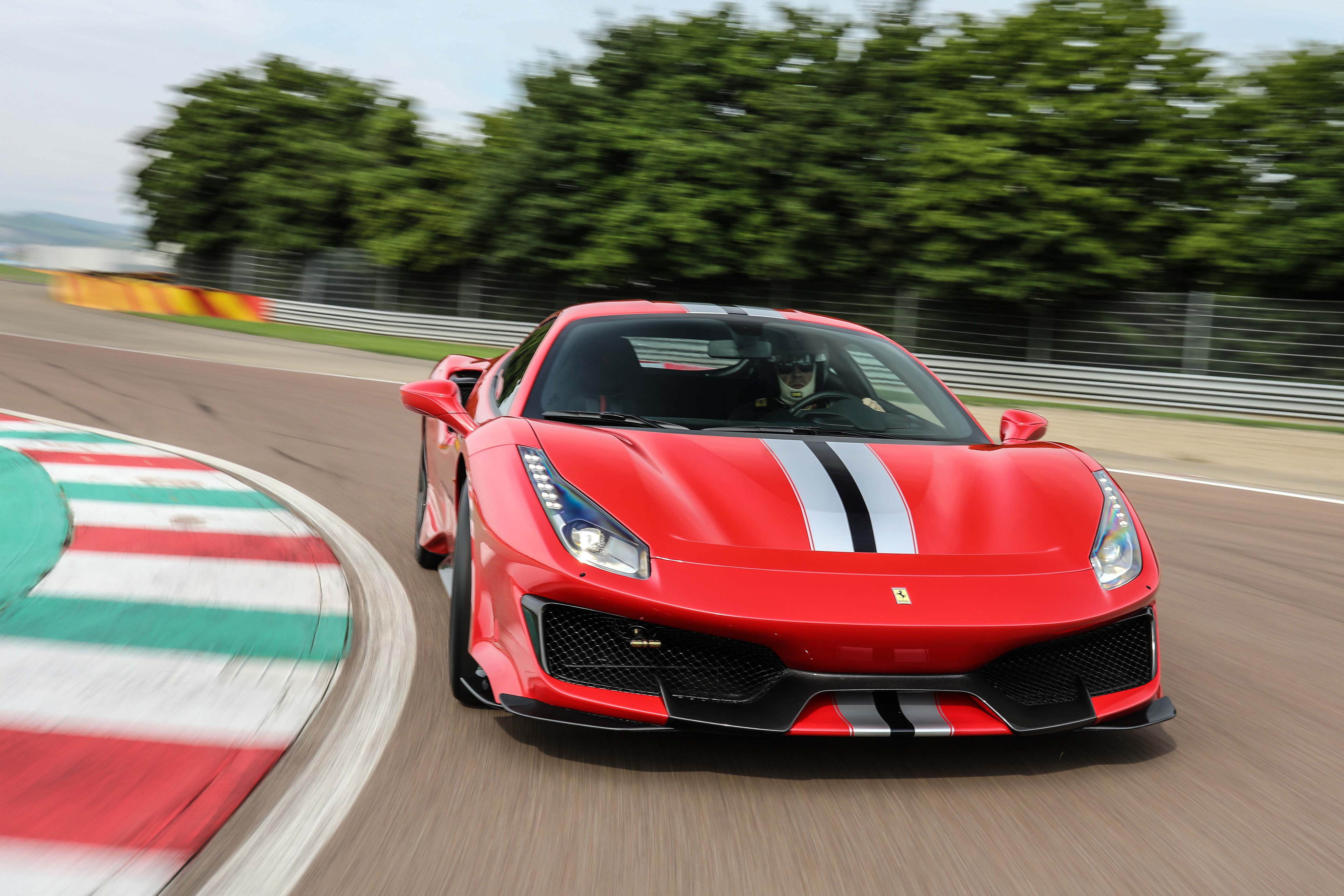 Ferrari 488 Pista On Track 4k Hd Cars 4k Wallpapers