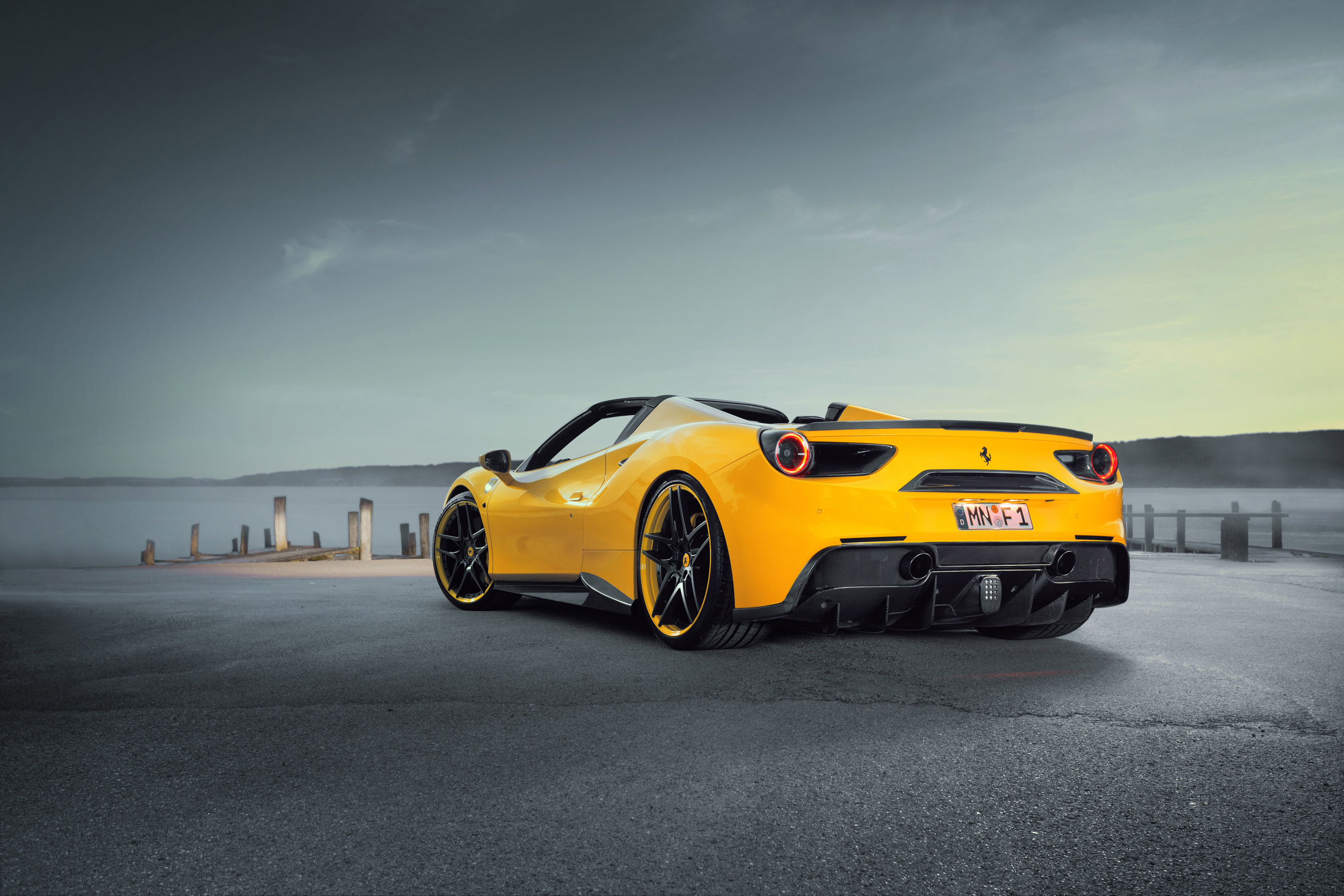 Ferrari 488 Yellow Hd Cars 4k Wallpapers Images