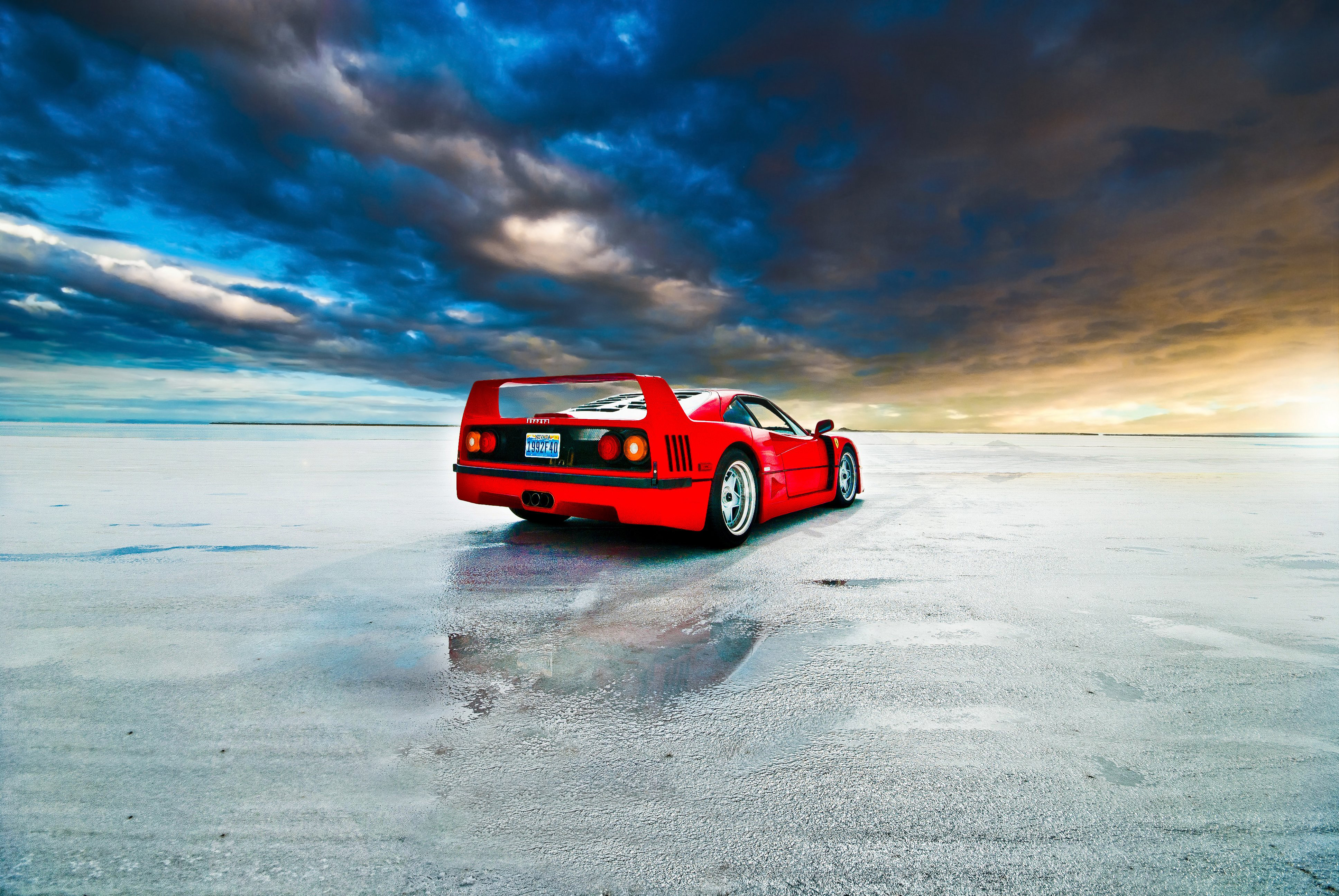 Ferrari F40, HD Cars, 4k Wallpapers, Images, Backgrounds