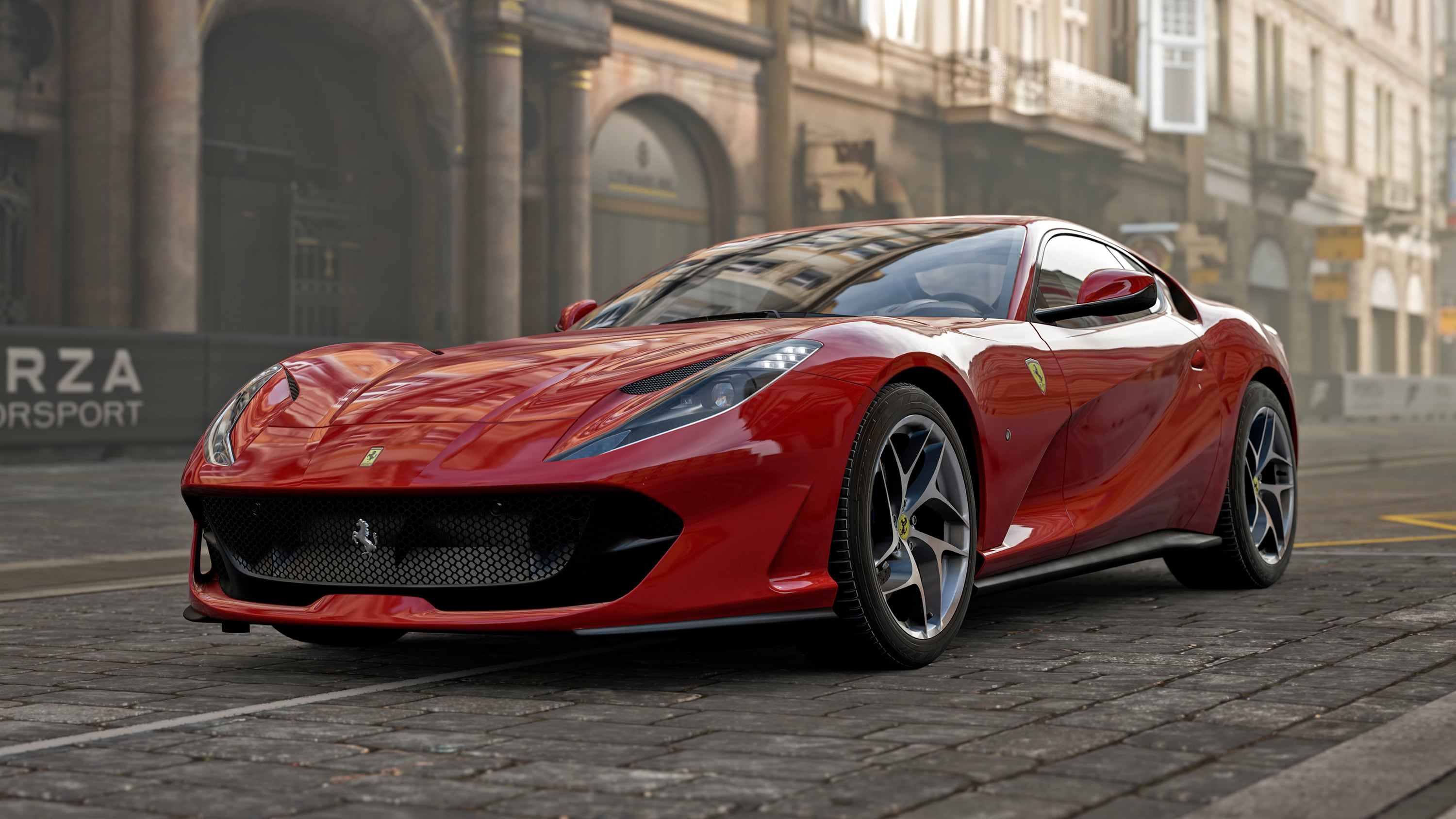 Forza Motorsport 7 Wallpapers Ultra Hd Gaming Backgrounds: Ferrari Forza Motorsport 7 4k, HD Games, 4k Wallpapers