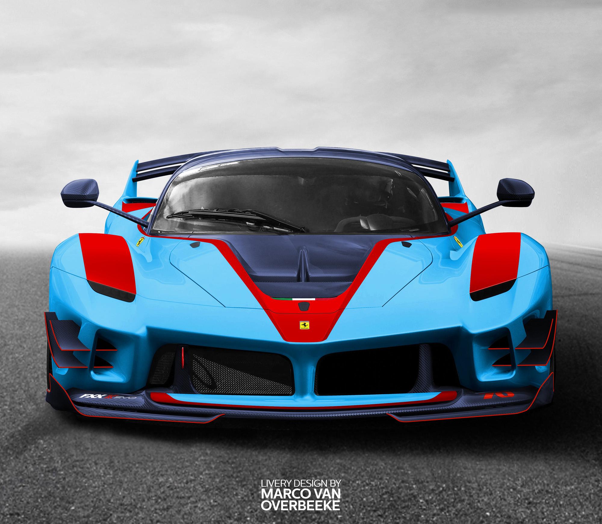 Ferrari Fxx: Ferrari LaFerrari FXX K Evo, HD Cars, 4k Wallpapers