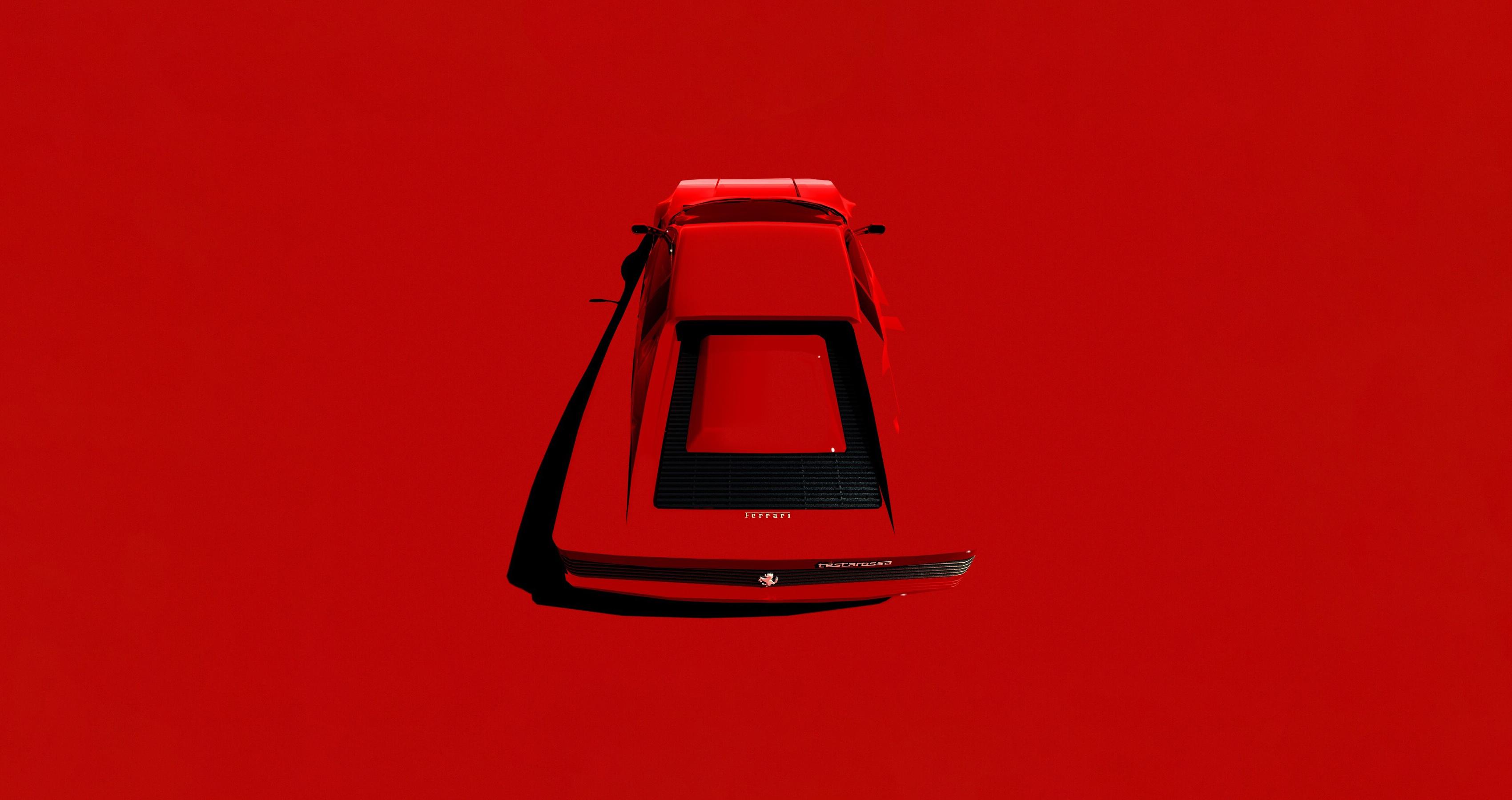 Get Minimalist Wallpaper Ferrari  Images