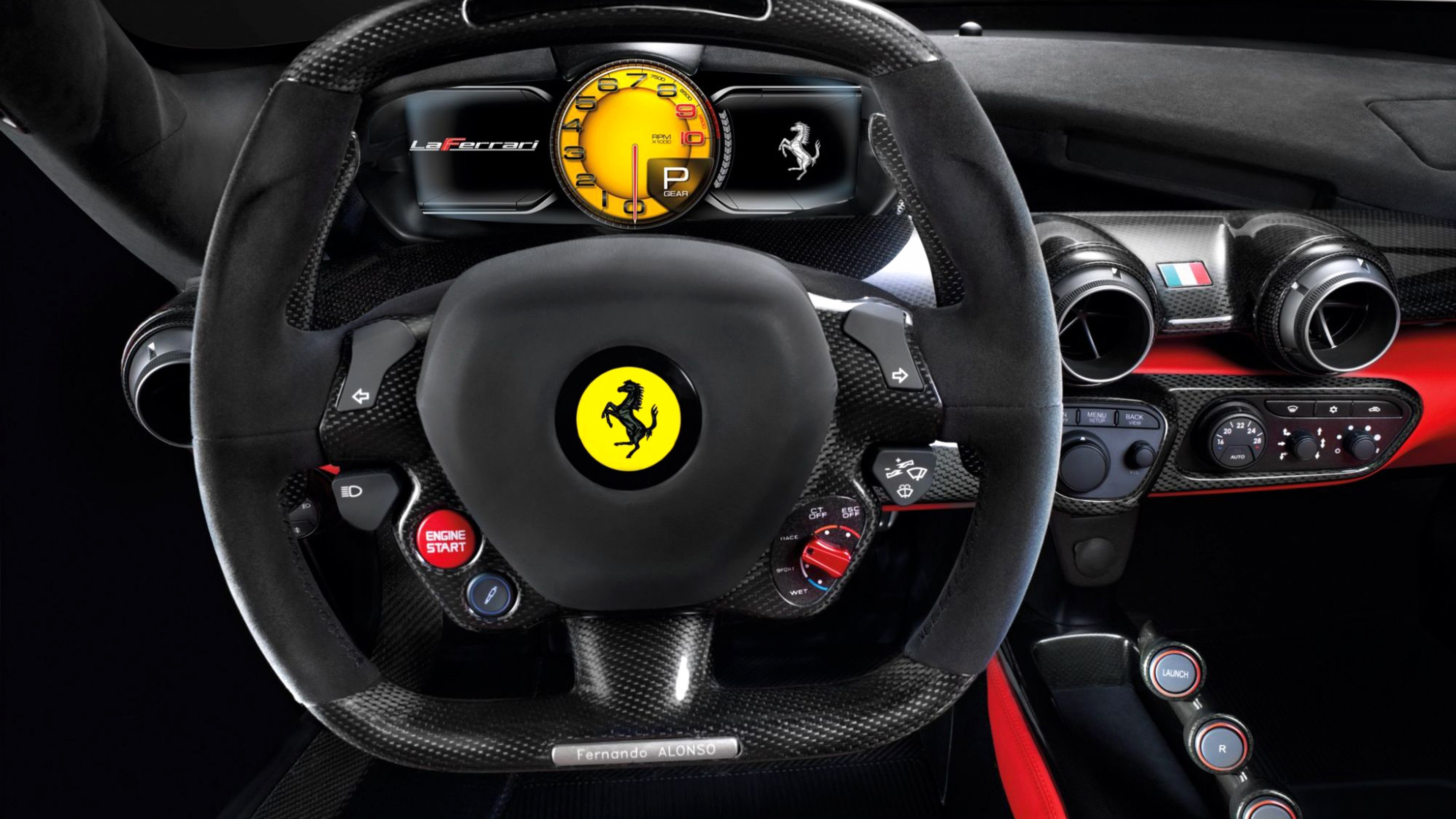 ferrari steering, hd cars, 4k wallpapers, images, backgrounds