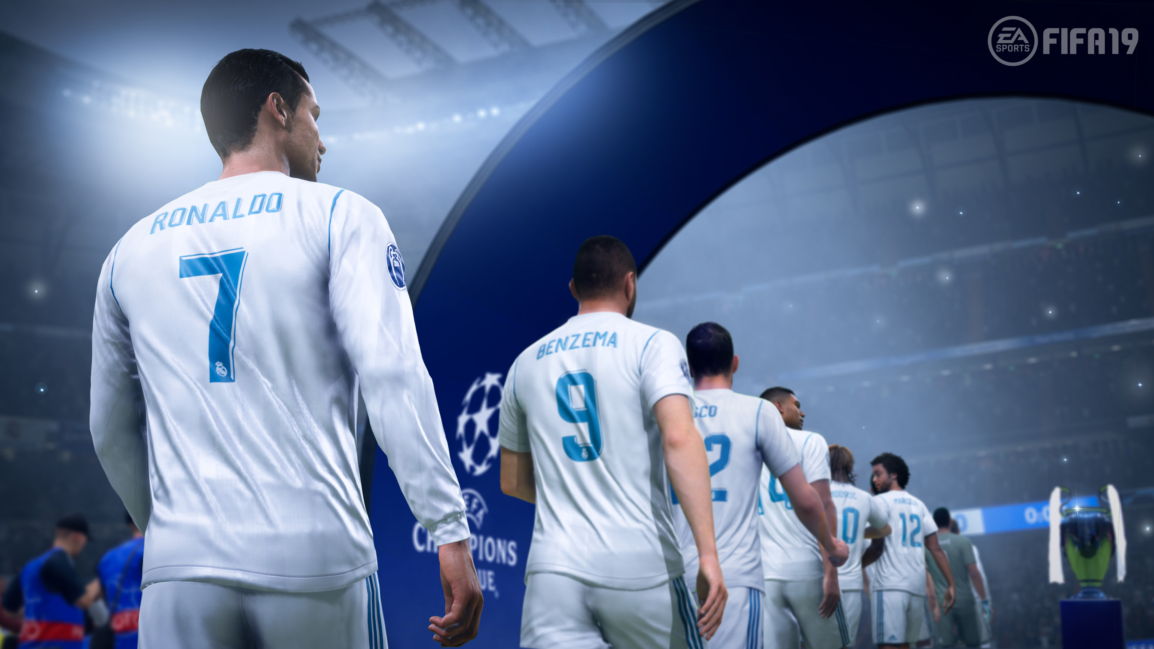 Fifa 19 Ronaldo, HD Games, 4k Wallpapers, Images