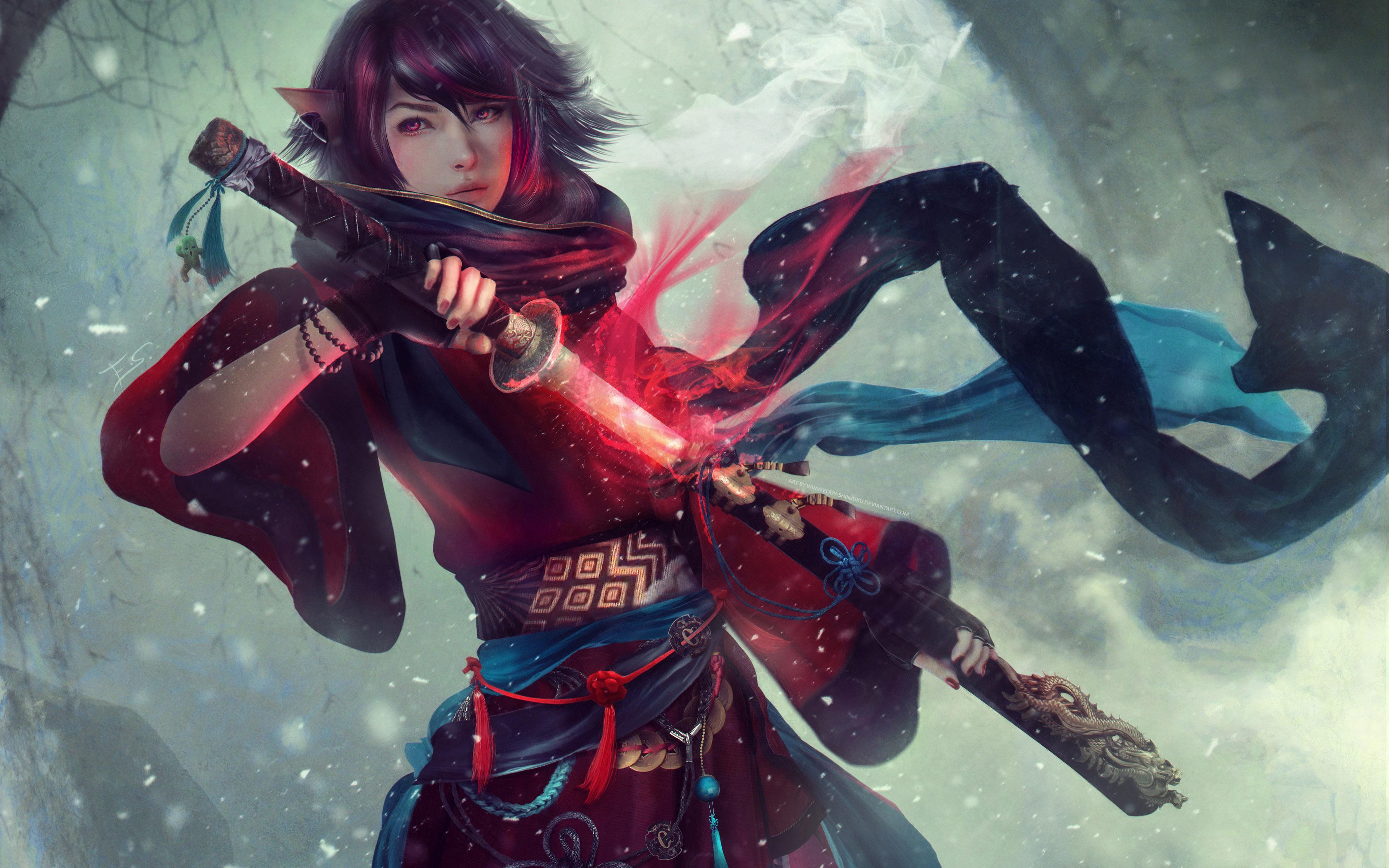 Final Fantasy 4k Hd Games 4k Wallpapers Images: Final Fantasy Original Character 4k, HD Games, 4k