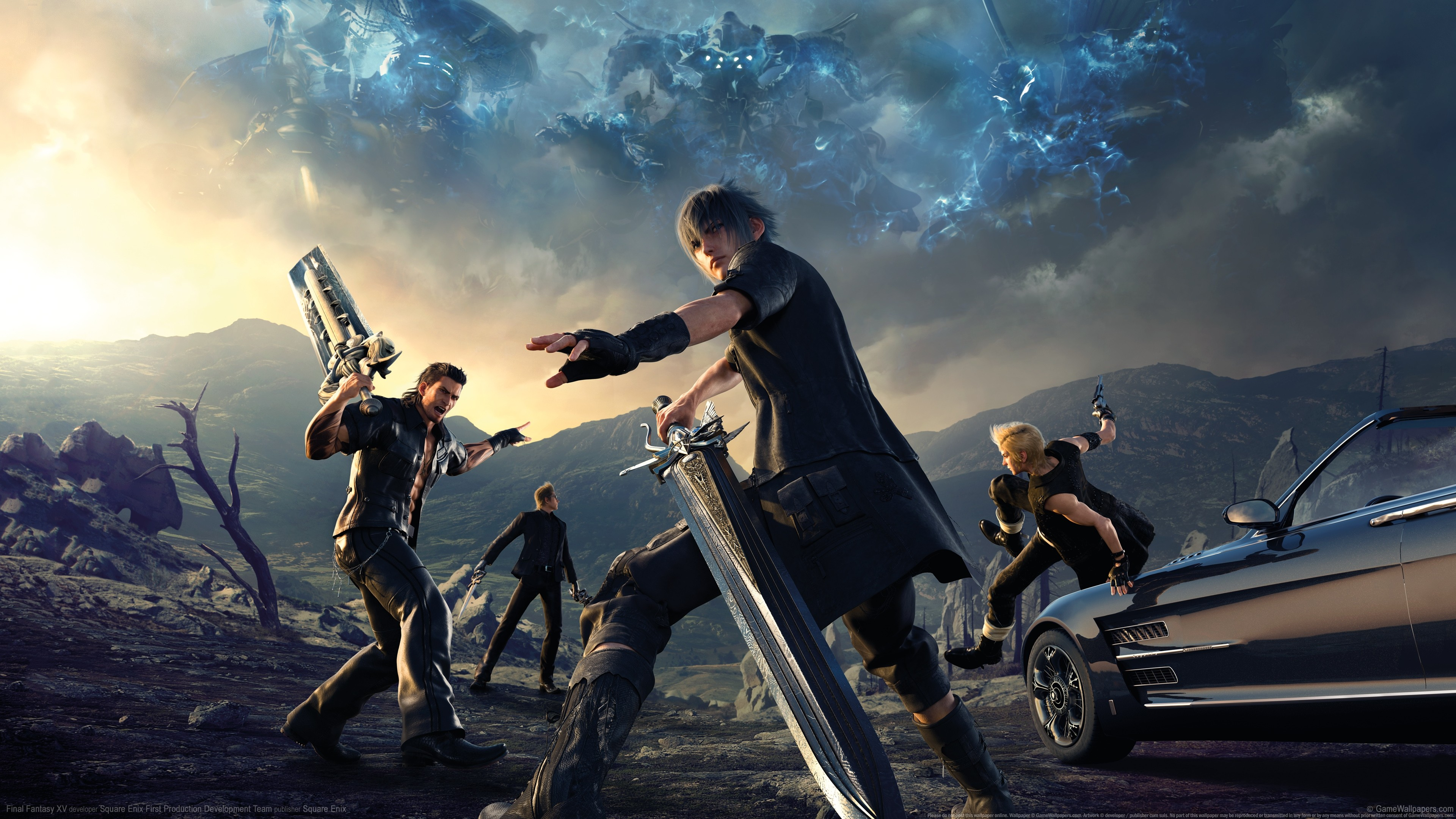 final fantasy xv ps4, hd games, 4k wallpapers, images, backgrounds