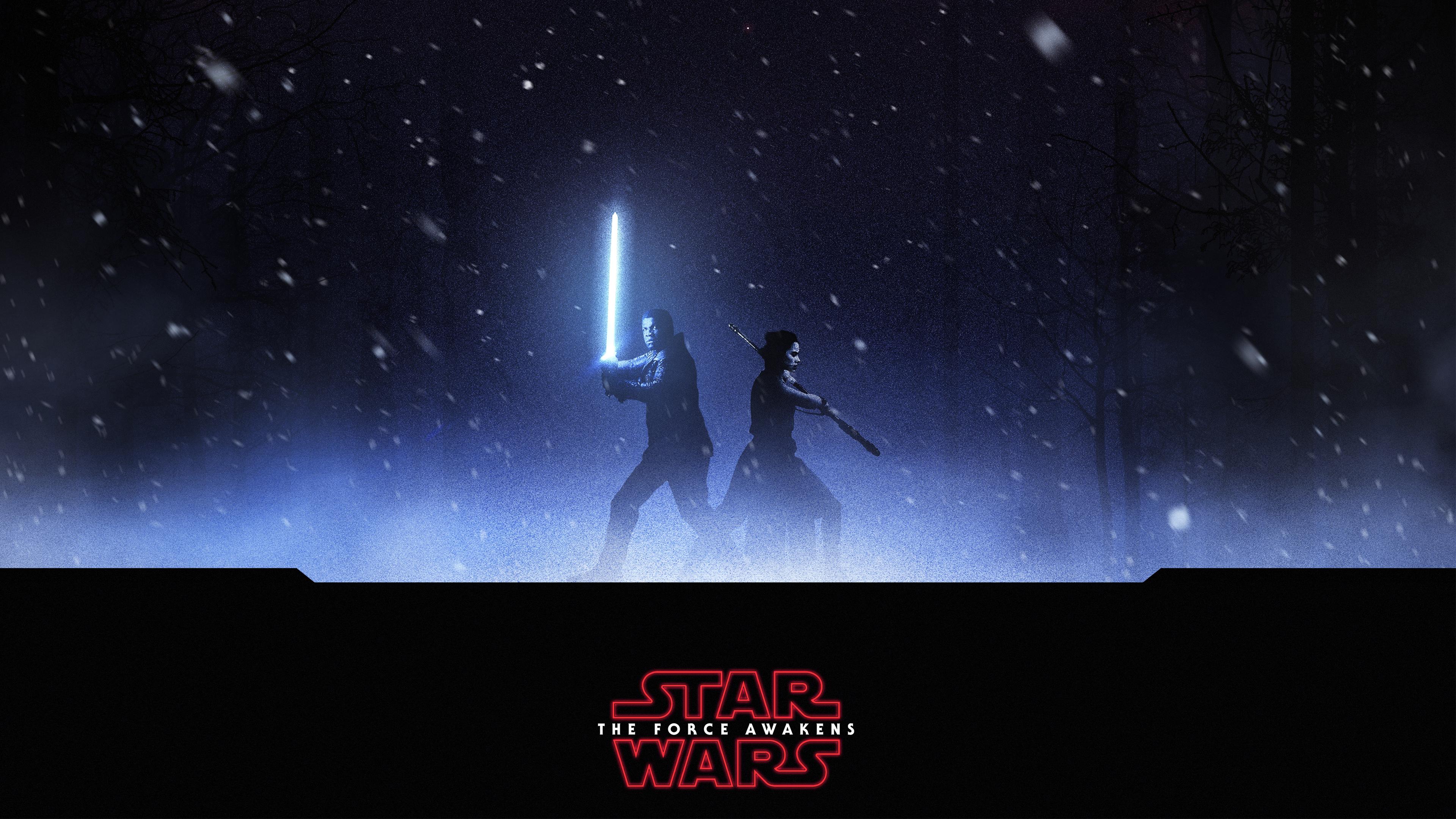 Finn rey star wars hd movies 4k wallpapers images - 4k star wars wallpaper ...
