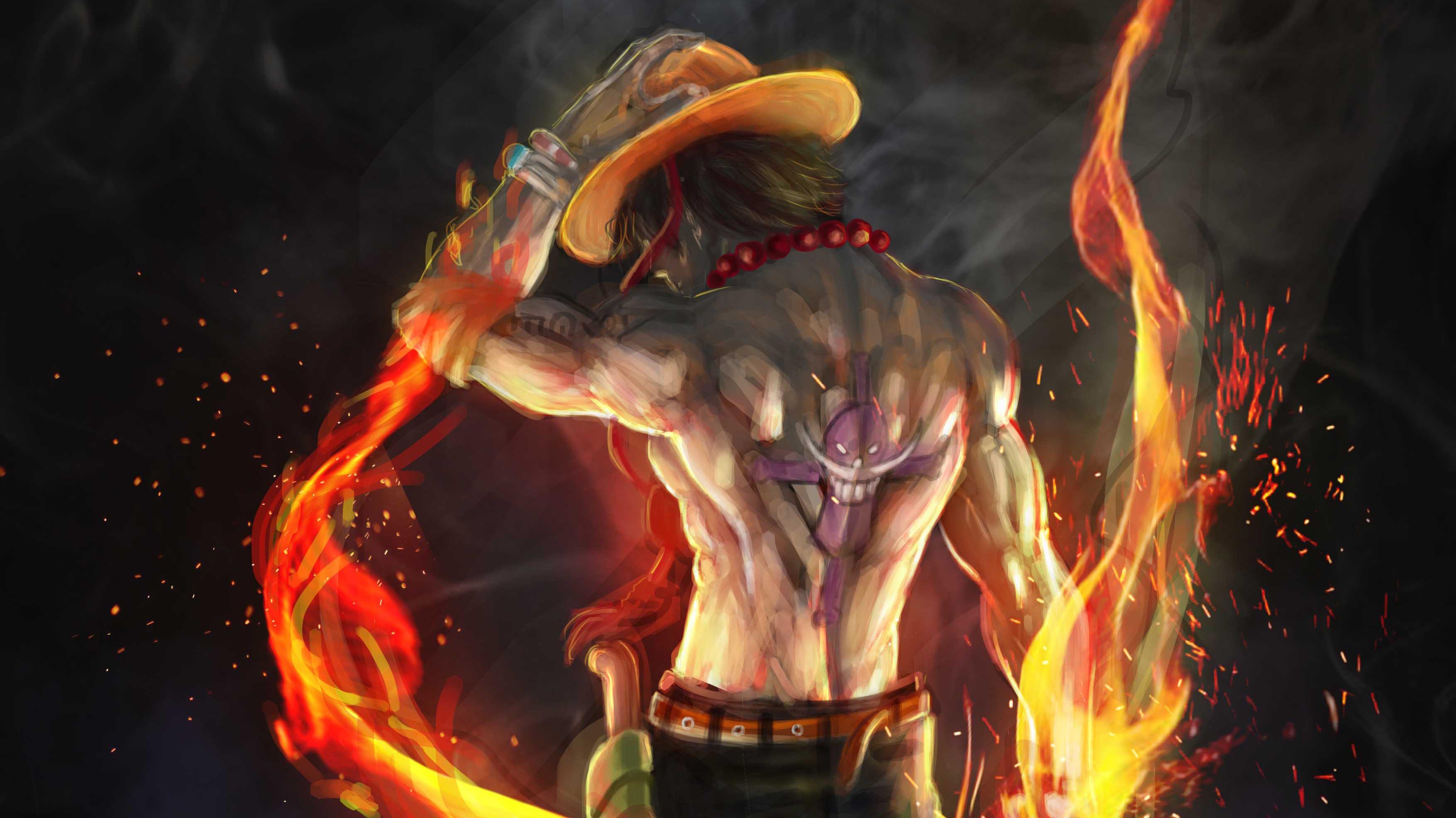 Fire Fist Ace 4k Artwork, HD Artist, 4k Wallpapers, Images
