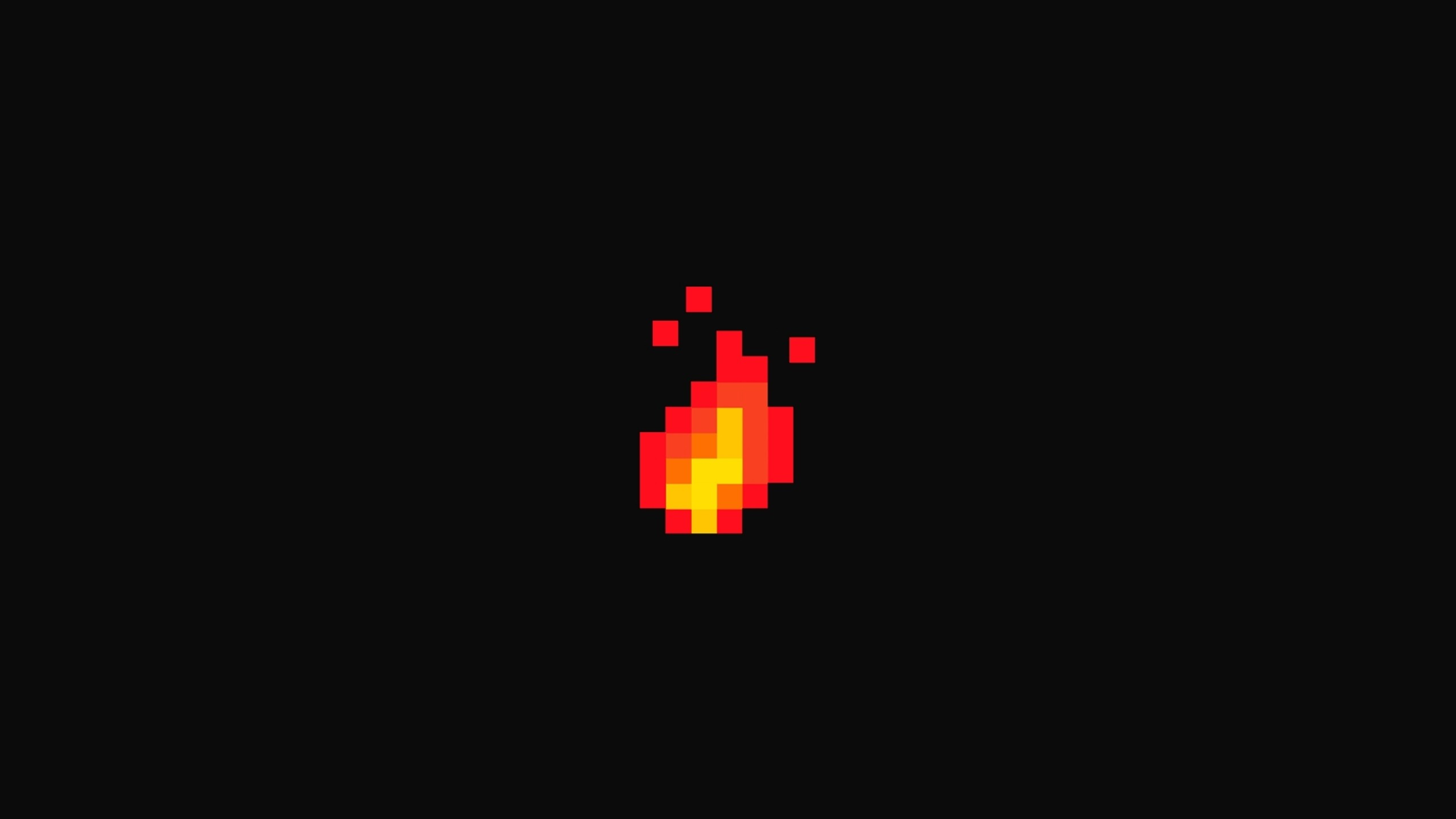 Fire Pixel Art Hd Artist 4k Wallpapers Images Backgrounds