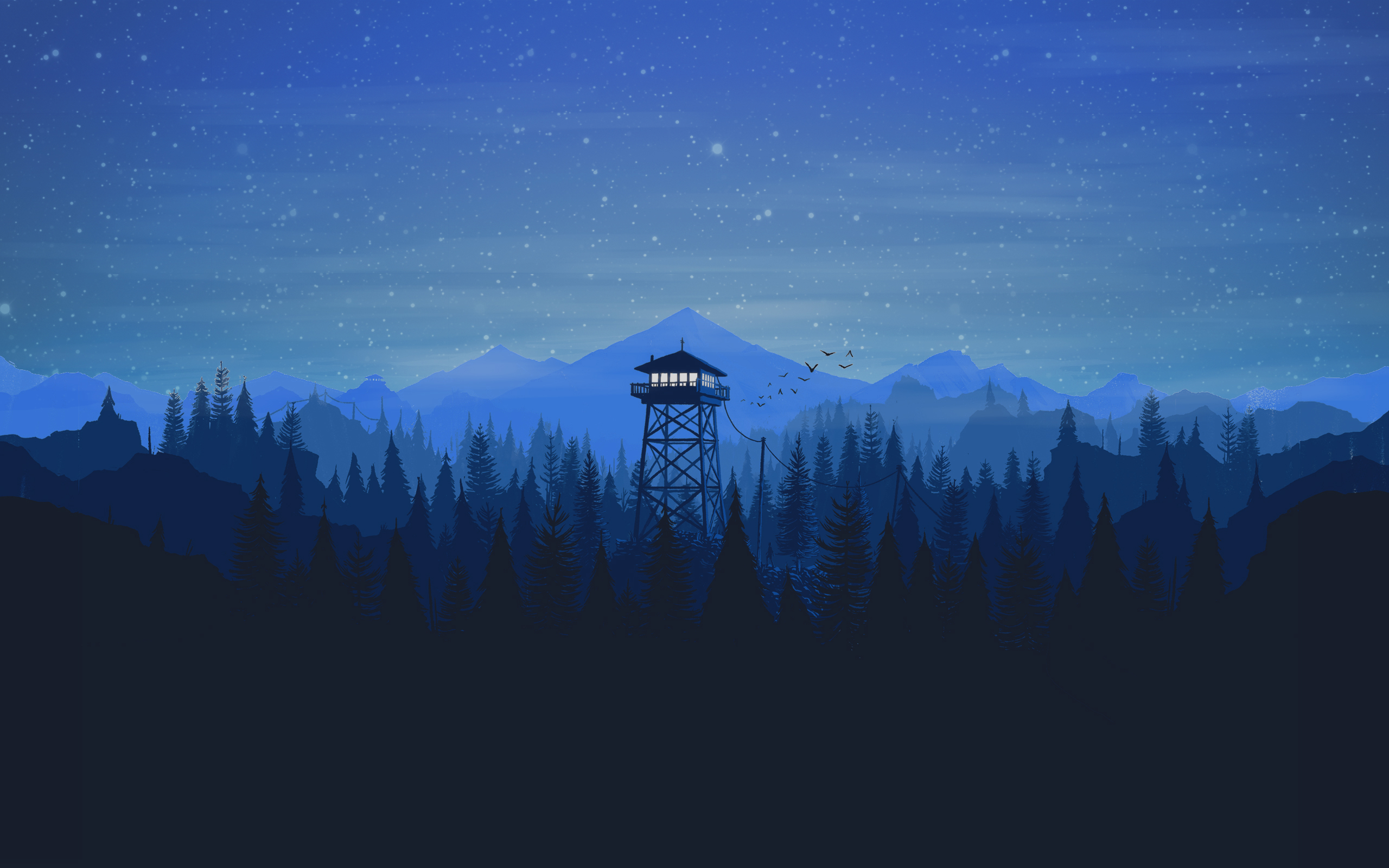 Firewatch hd games 4k wallpapers images backgrounds - Digital art wallpaper 3840x1080 ...