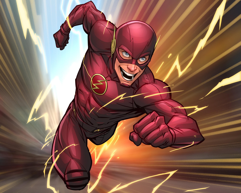 Flash Comic Art, HD Superheroes, 4k Wallpapers, Images ...