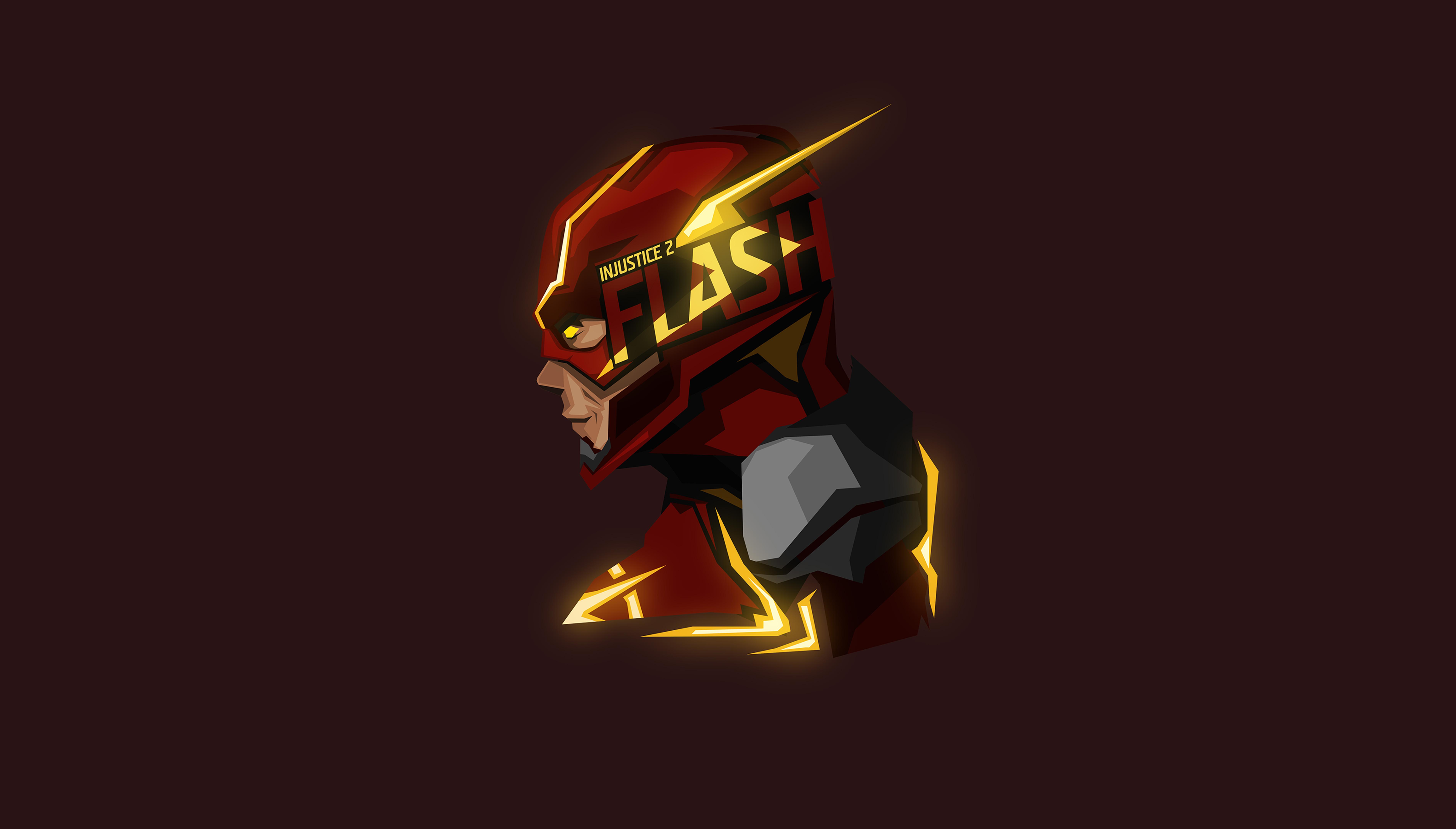 Flash glowing minimal 8k hd superheroes 4k wallpapers - 8k minimal wallpaper ...