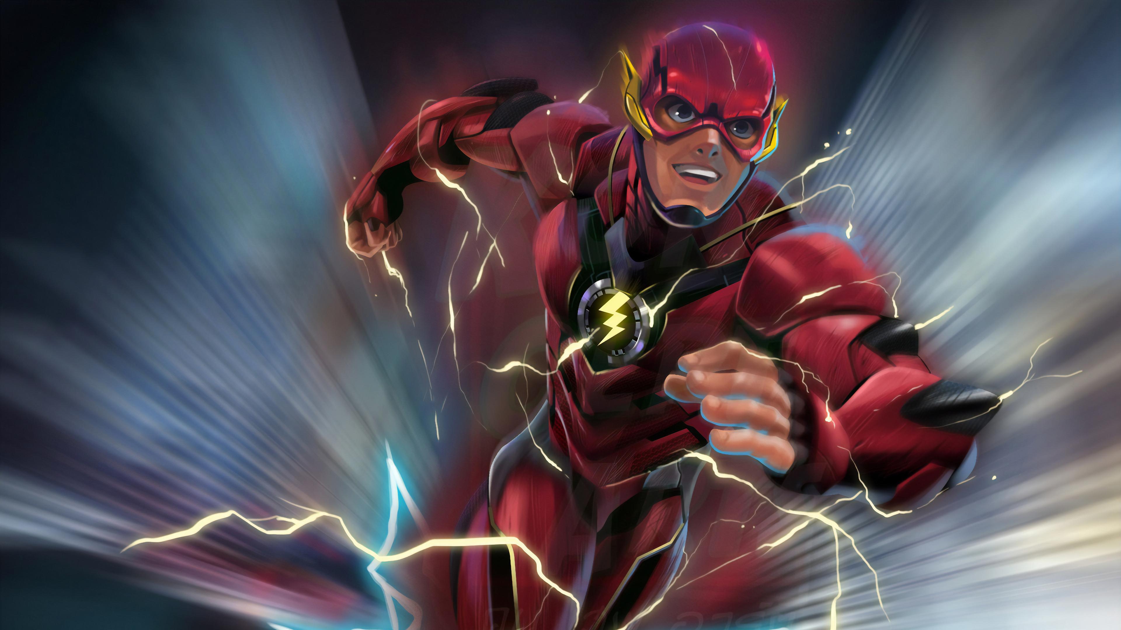 Flash New Artwork 4k, HD Superheroes, 4k Wallpapers ...