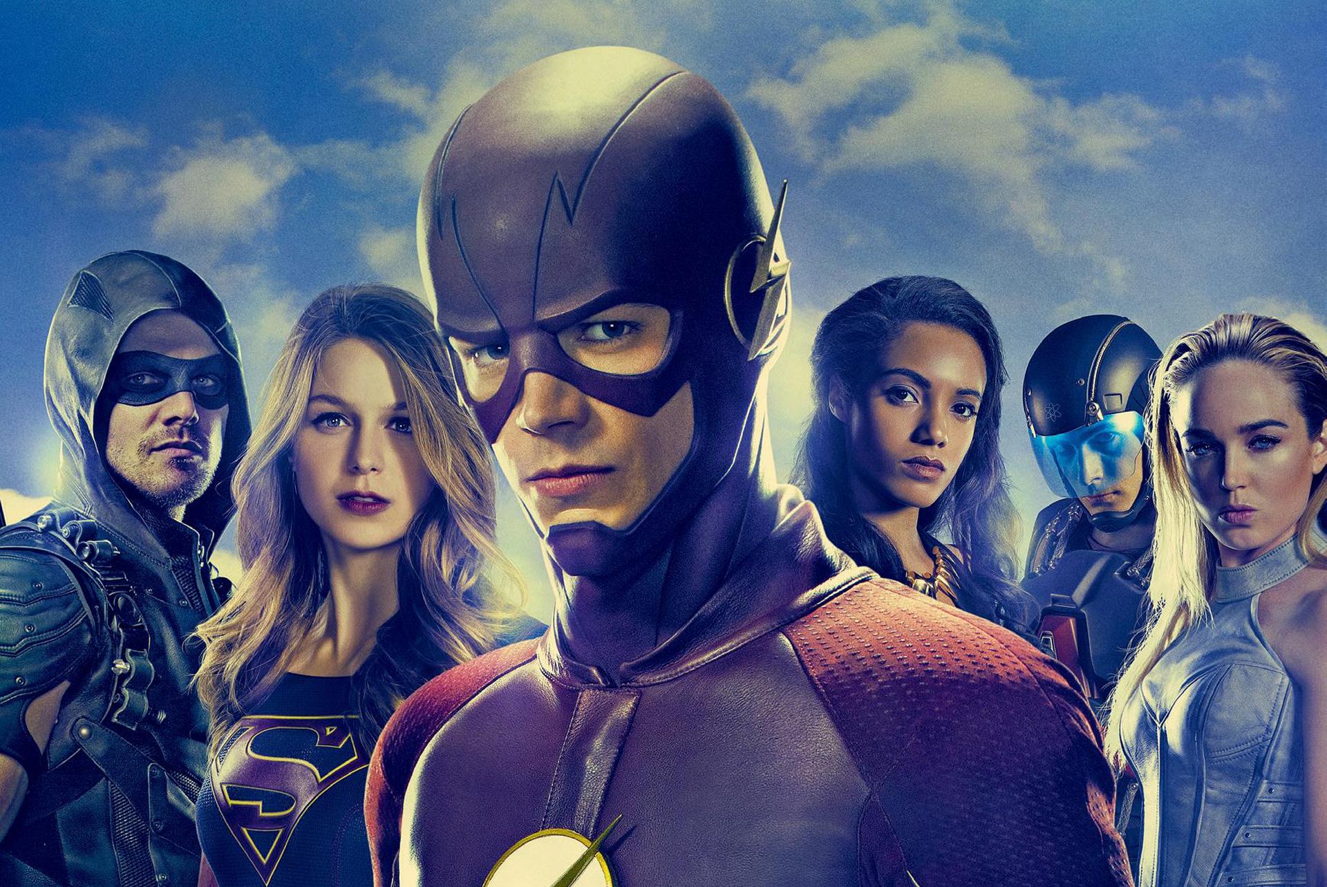 Revolution Tv Series Wallpapers: 2932x2932 Flash Supergirl Arrow Tv Series Ipad Pro Retina