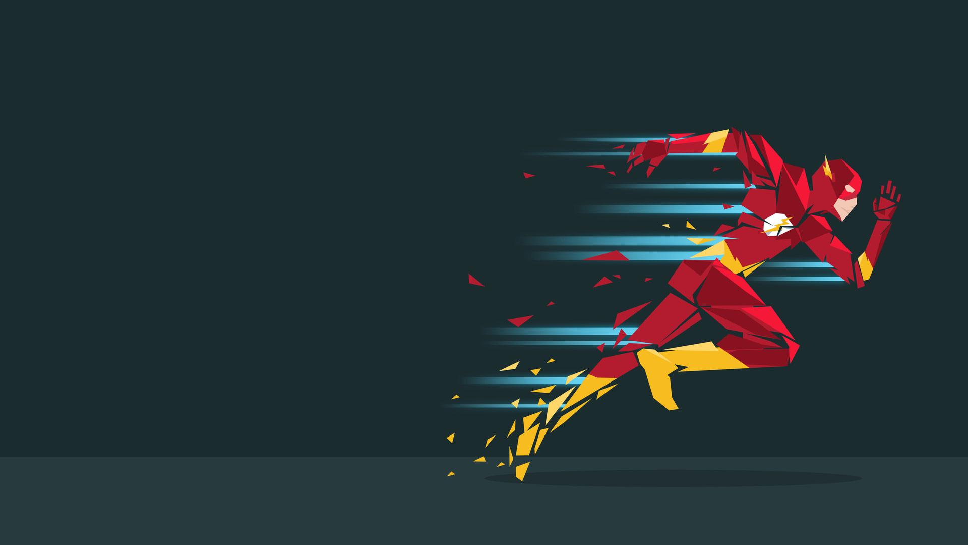 desktop wallpaper vector: Flash Vector Art, HD Superheroes, 4k Wallpapers, Images