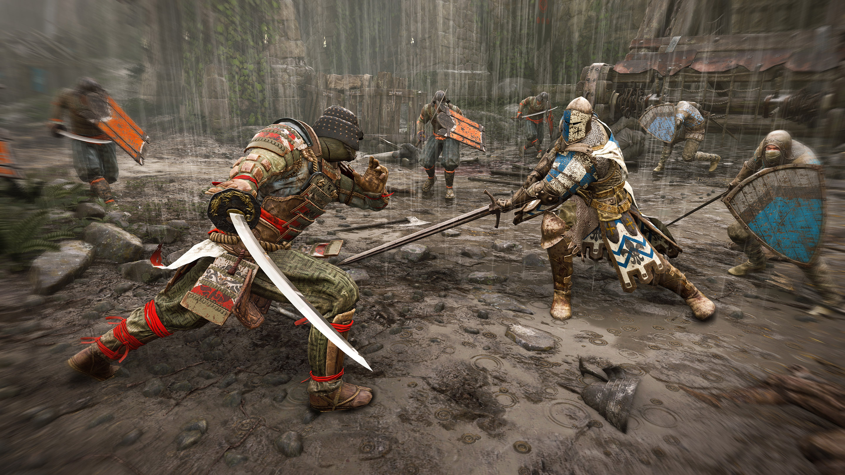 For Honor Warden Vs Orochi Hd Games 4k Wallpapers Images
