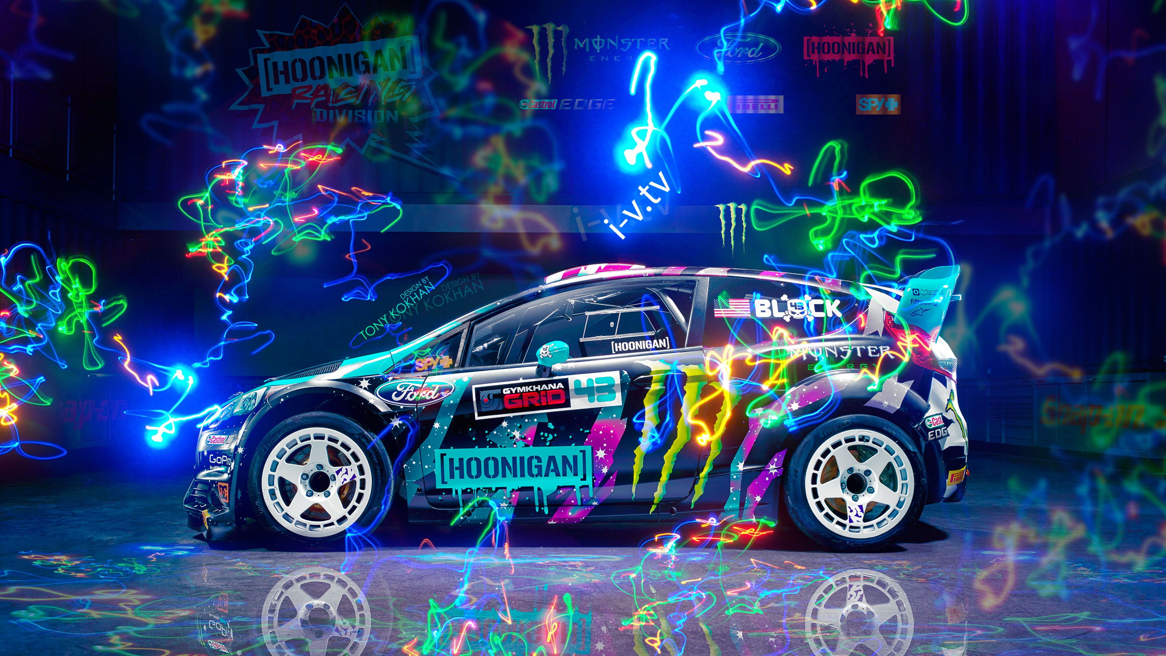 Ford Fiesta St Rx43 Hoonigan Car, HD Movies, 4k Wallpapers ...