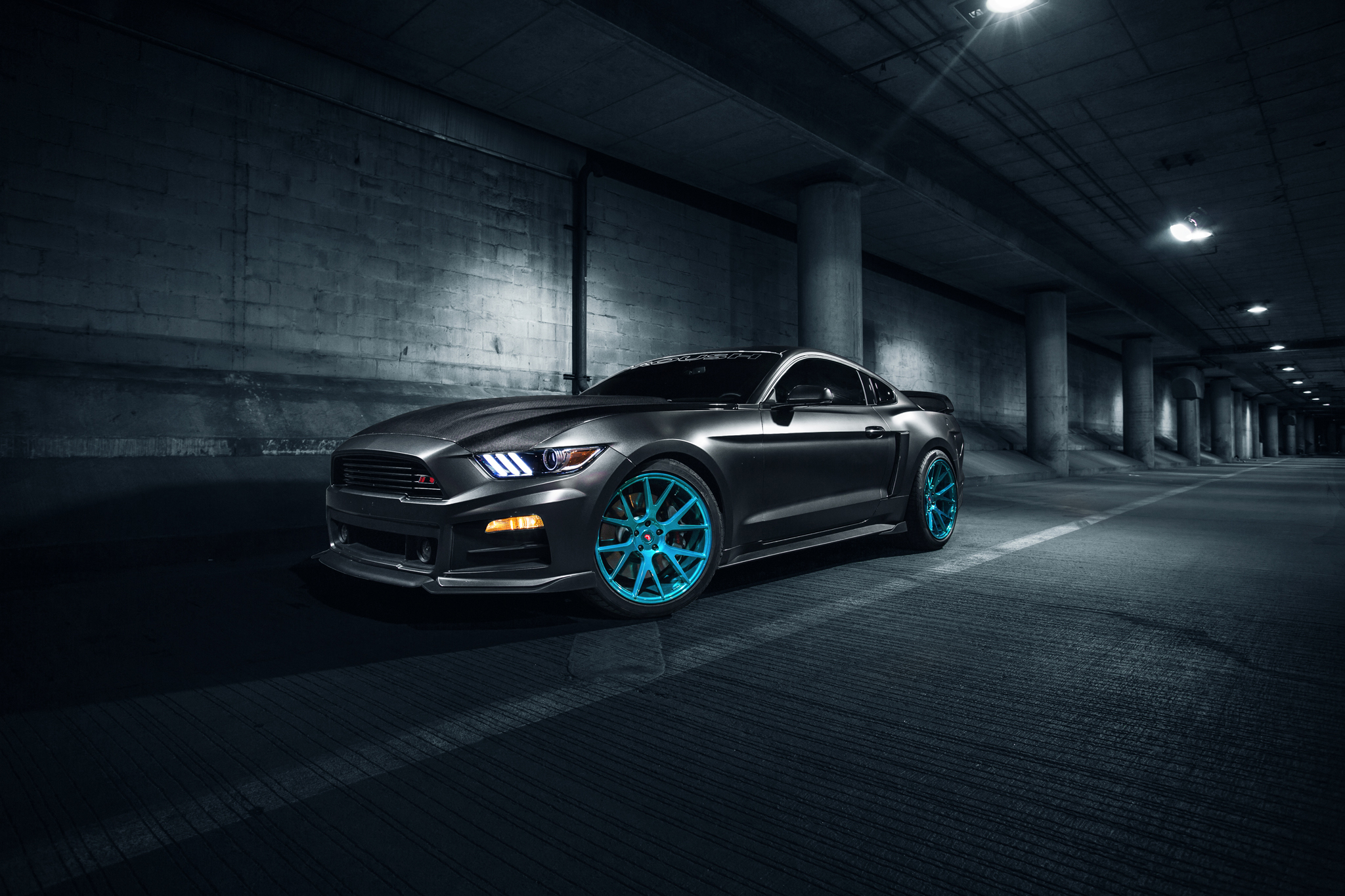 Ford Mustang Muscle Car HD