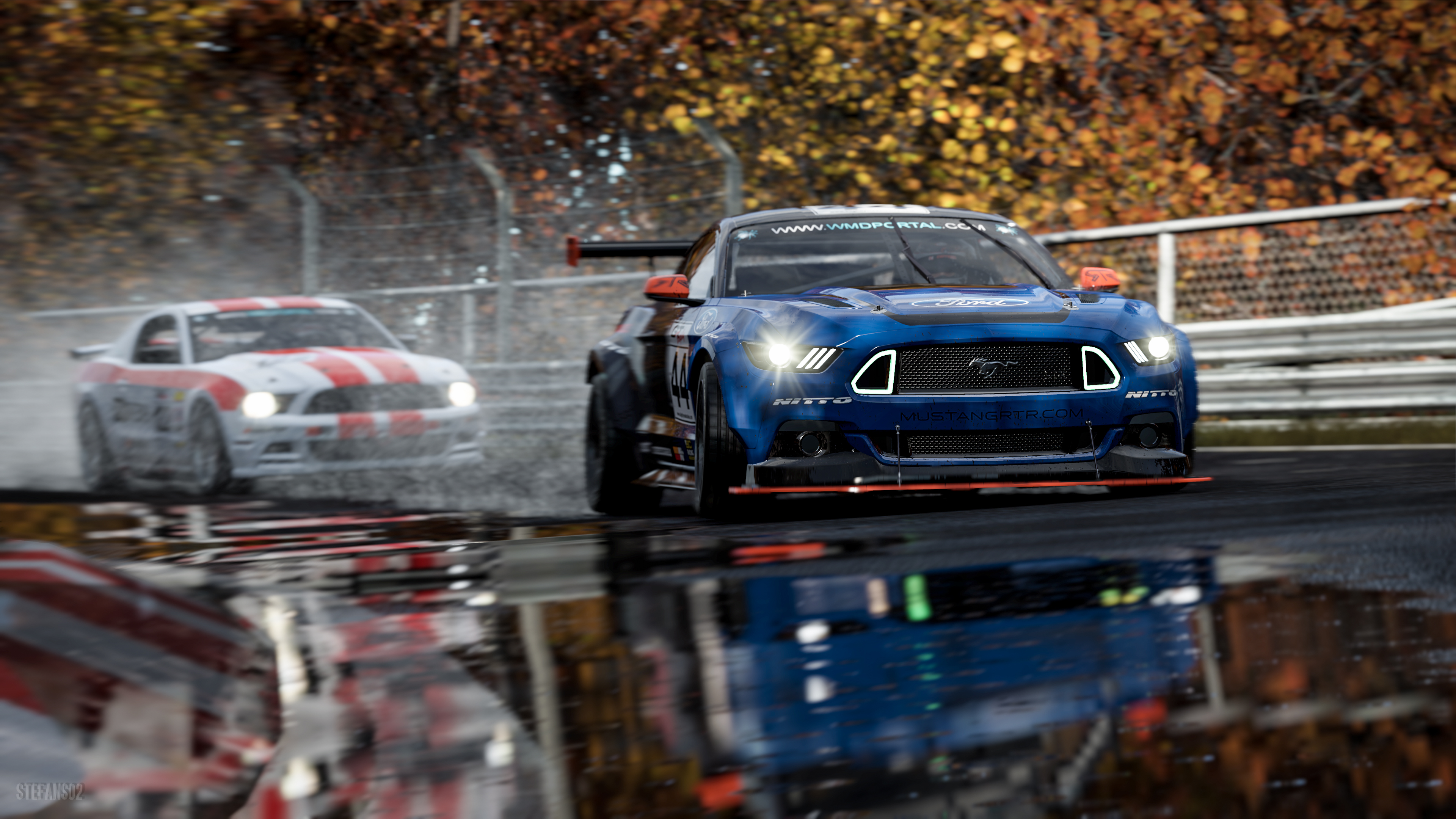 1920x1080 ford mustang rtr project cars 2 4k laptop full - Project cars 4k wallpaper ...