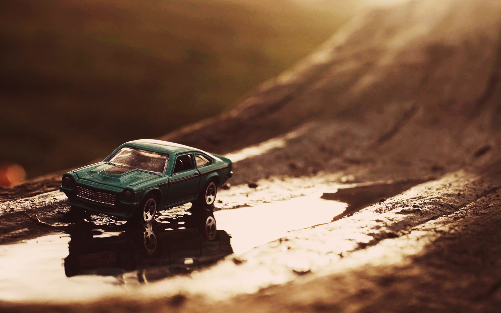 Ford Mustang Toy Macro