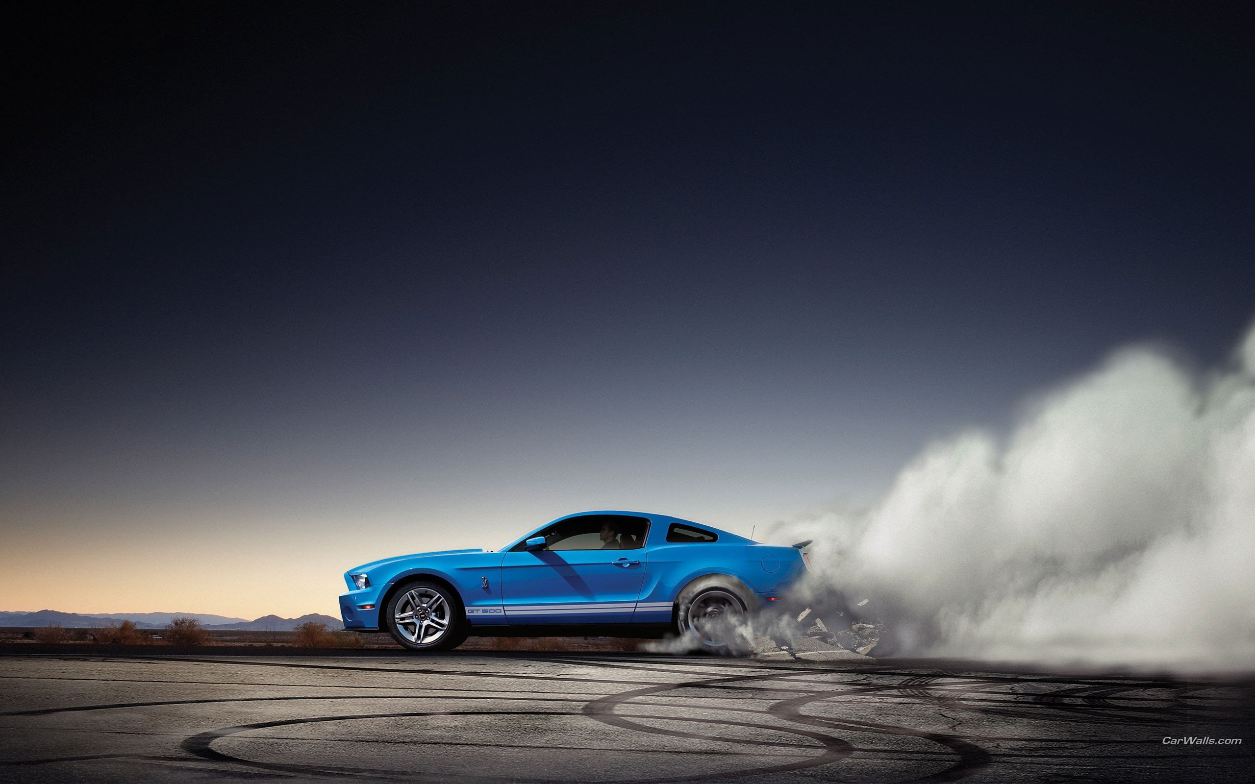 Ford Shelby Burnout, HD Cars, 4k Wallpapers, Images