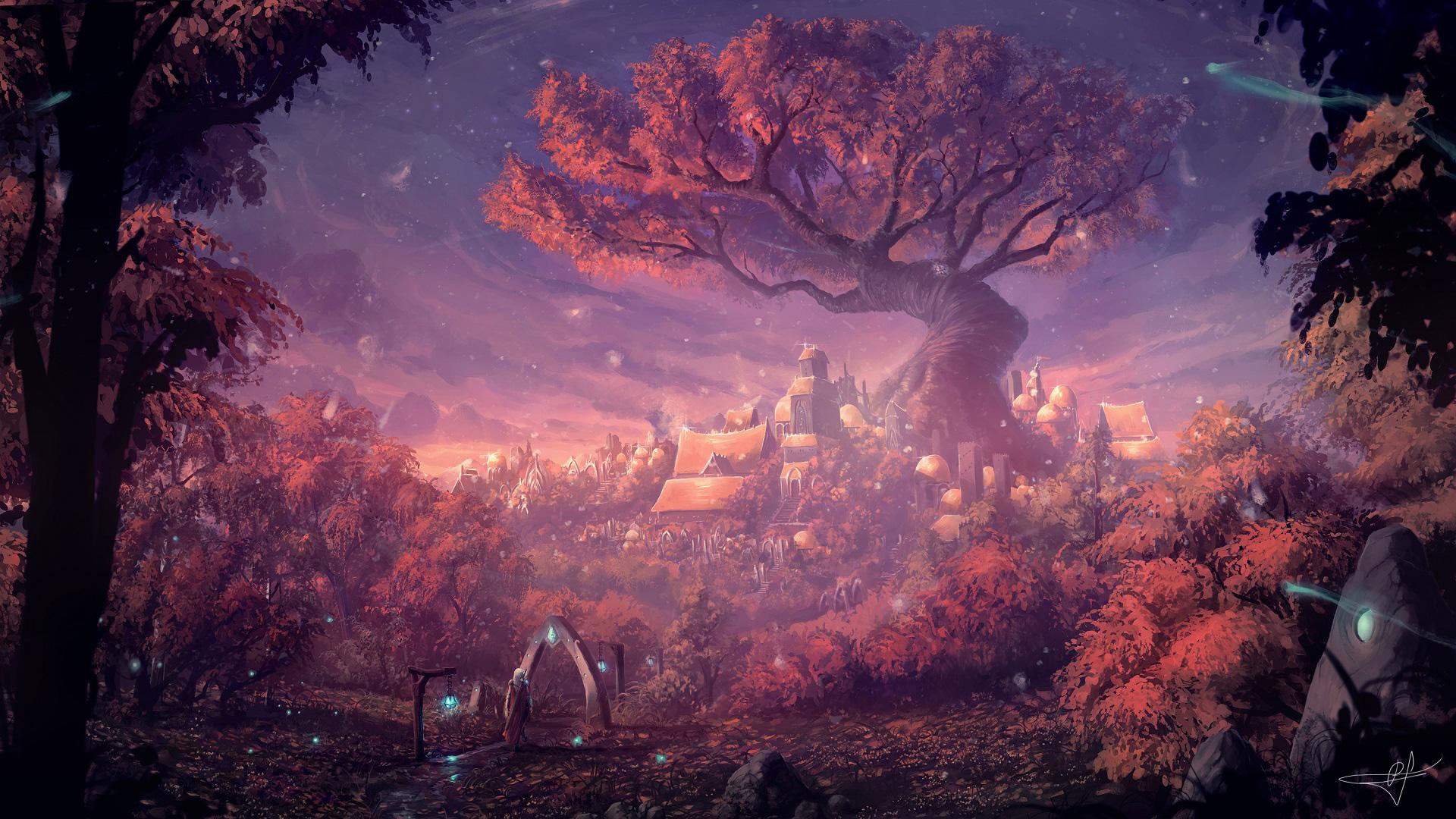 Forest Fantasy Artwork, HD Artist, 4k Wallpapers, Images ...