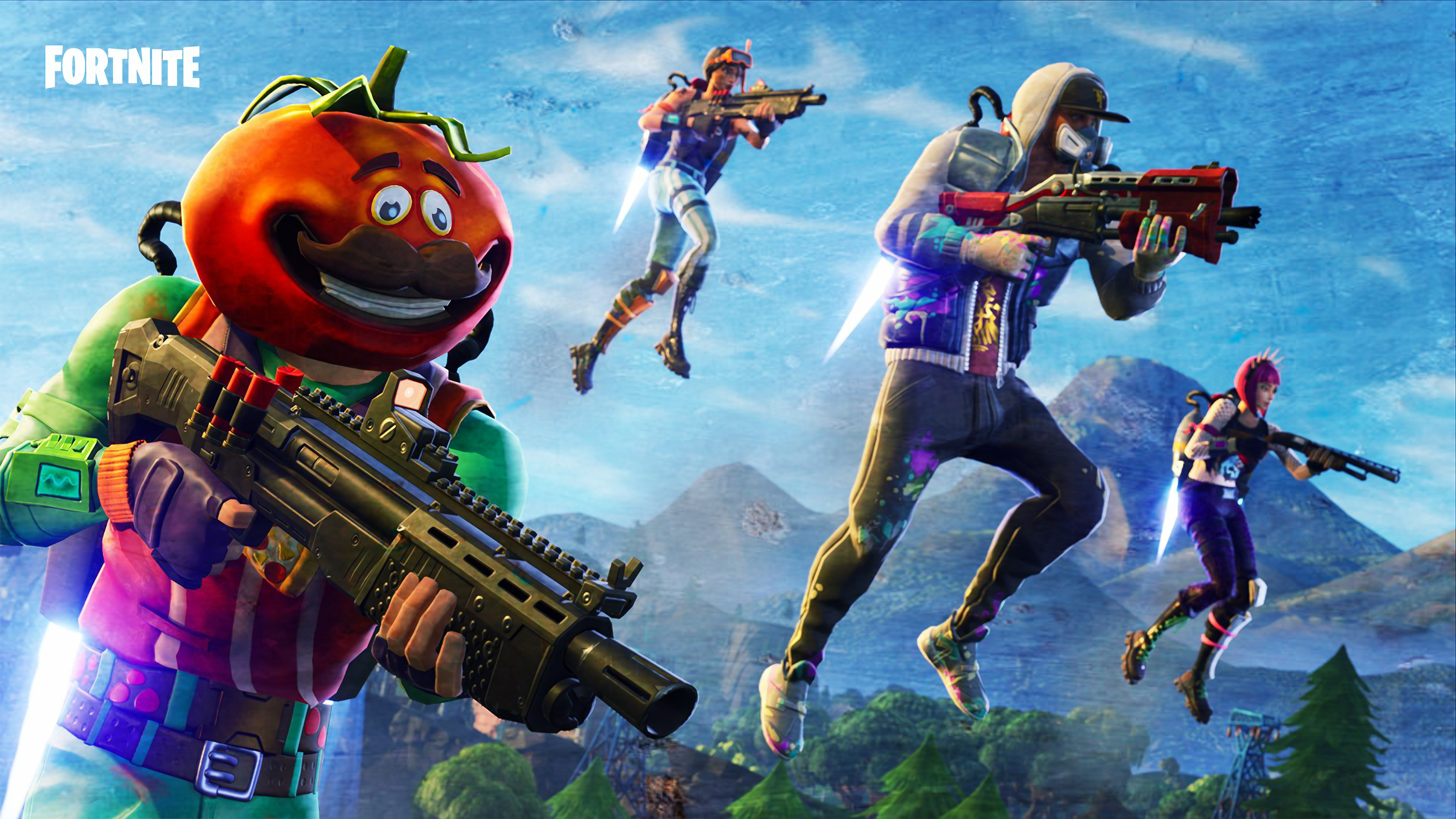Desktop Wallpaper 2018 Video Game Fortnite Art Hd: 2560x1700 Fortnite 2018 Game Chromebook Pixel HD 4k