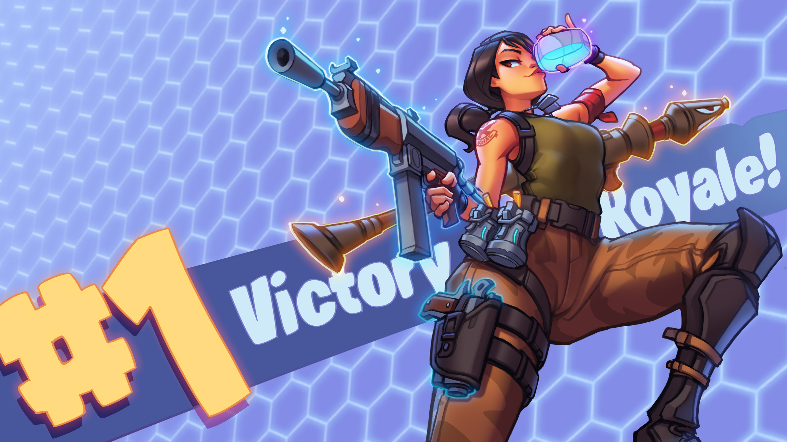 Fortnite Hd Games 4k Wallpapers Images Backgrounds: 2560x1440 Fortnite 2018 Victory Royale 1440P Resolution HD