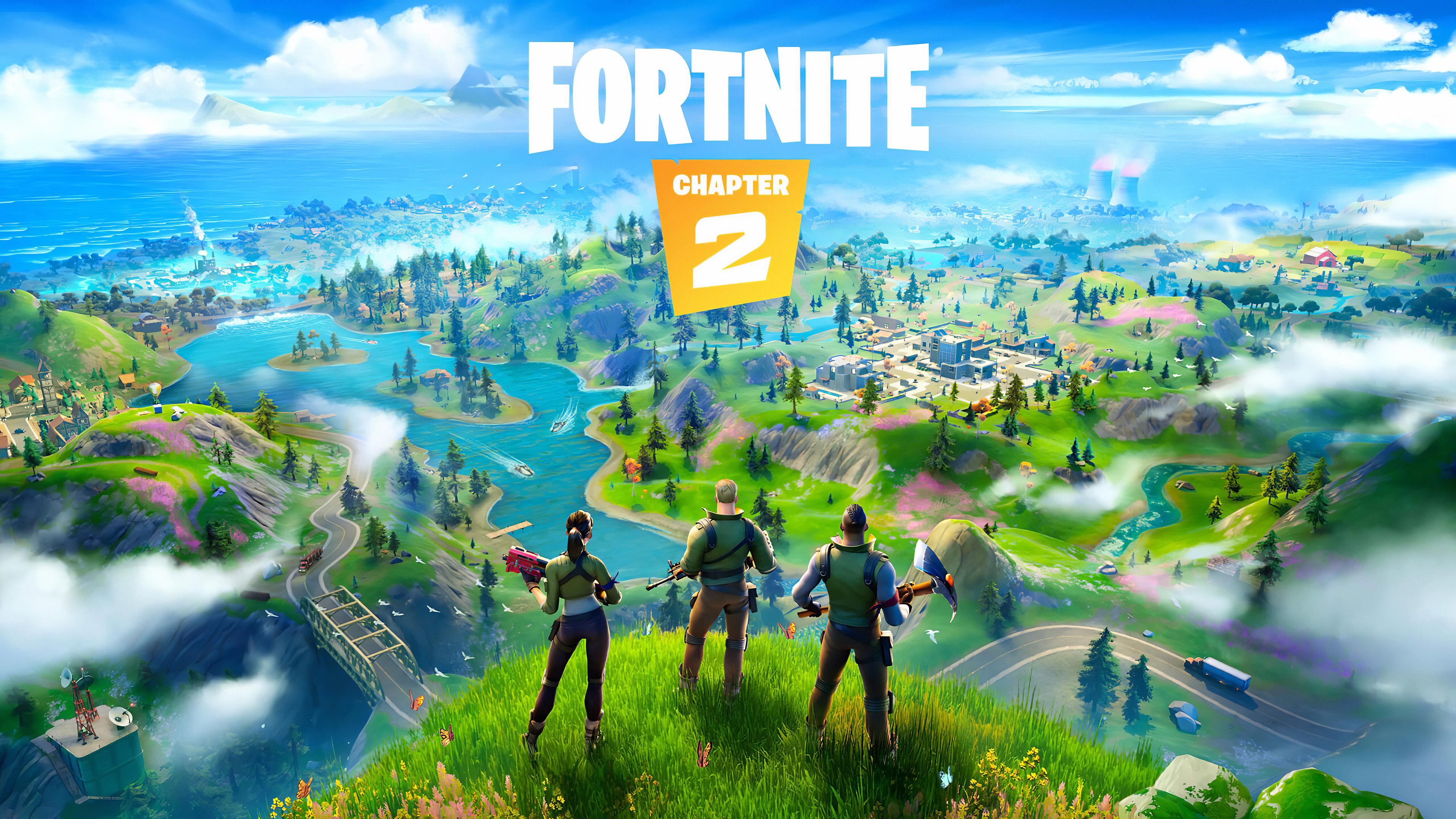 Fortnite Chapter 2 2019 4k, HD Games, 4k Wallpapers ...