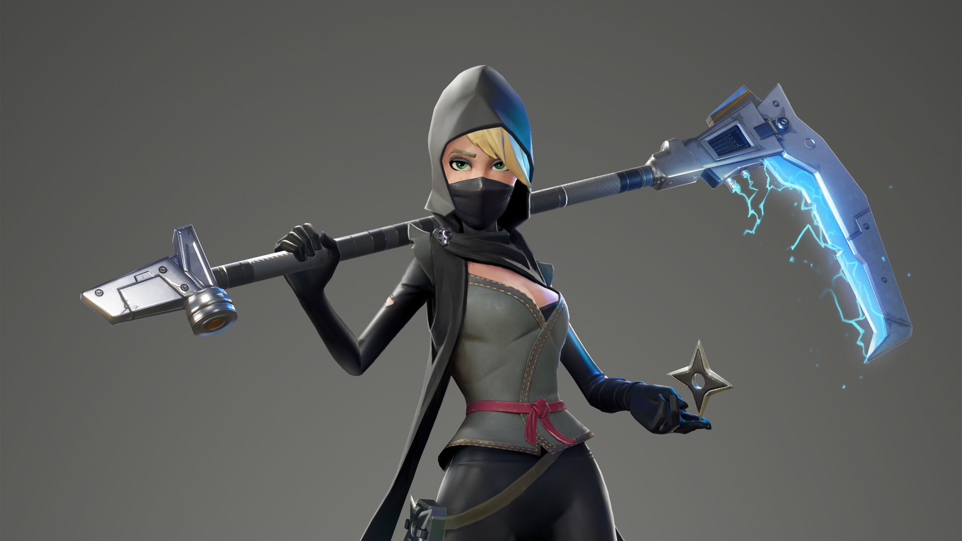Fortnite Female Ninja Hd Games 4k Wallpapers Images Backgrounds