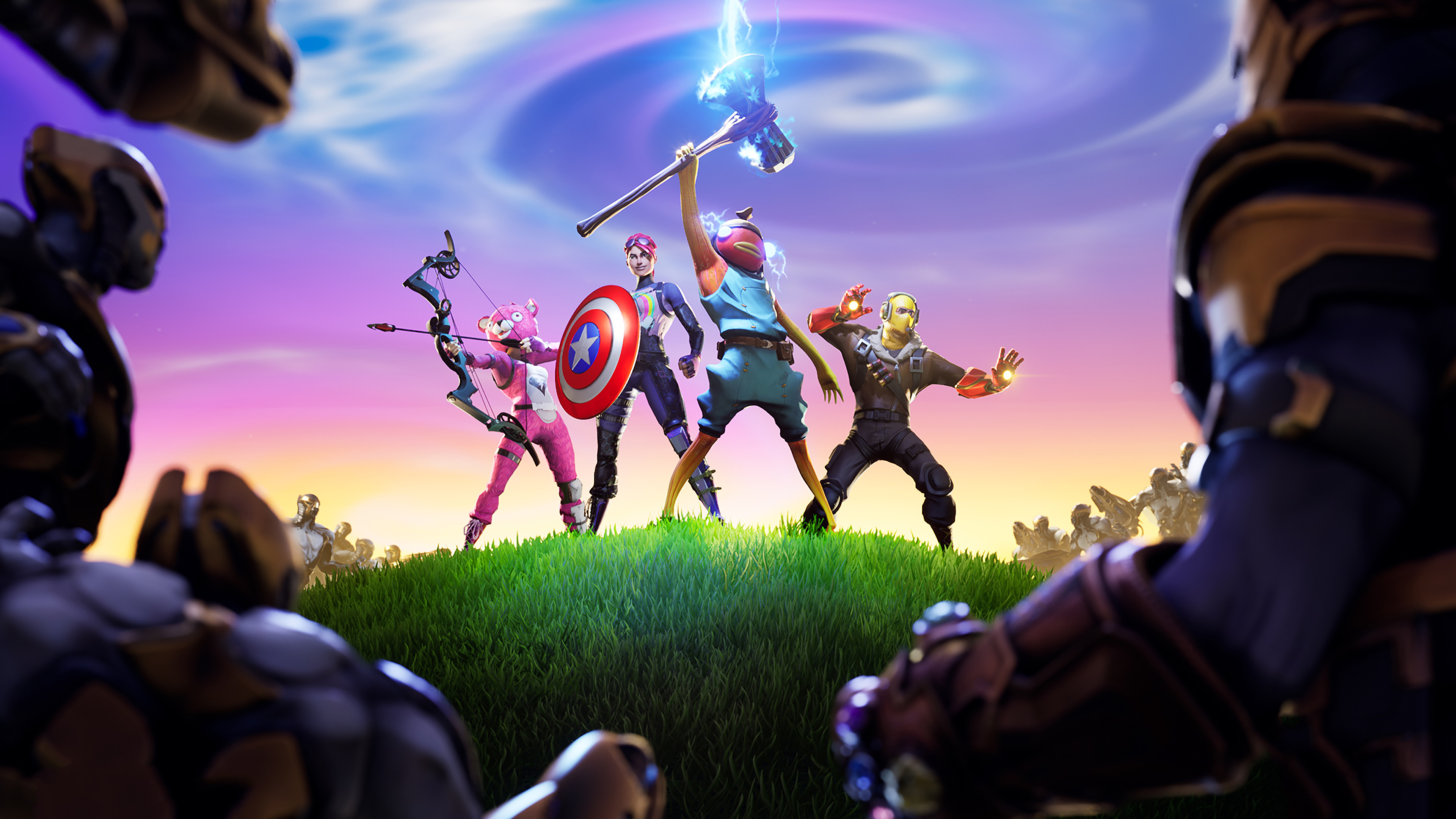 Fortnite X Avengers Hd Games 4k Wallpapers Images