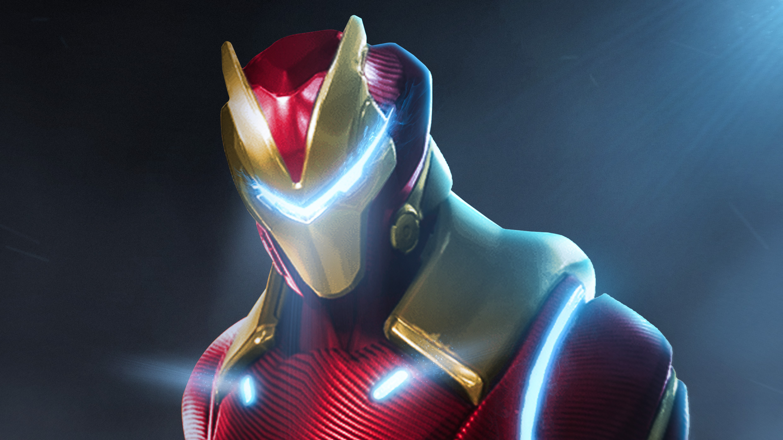 Fortnite X Marvel Iron Man Hd Superheroes 4k Wallpapers Images