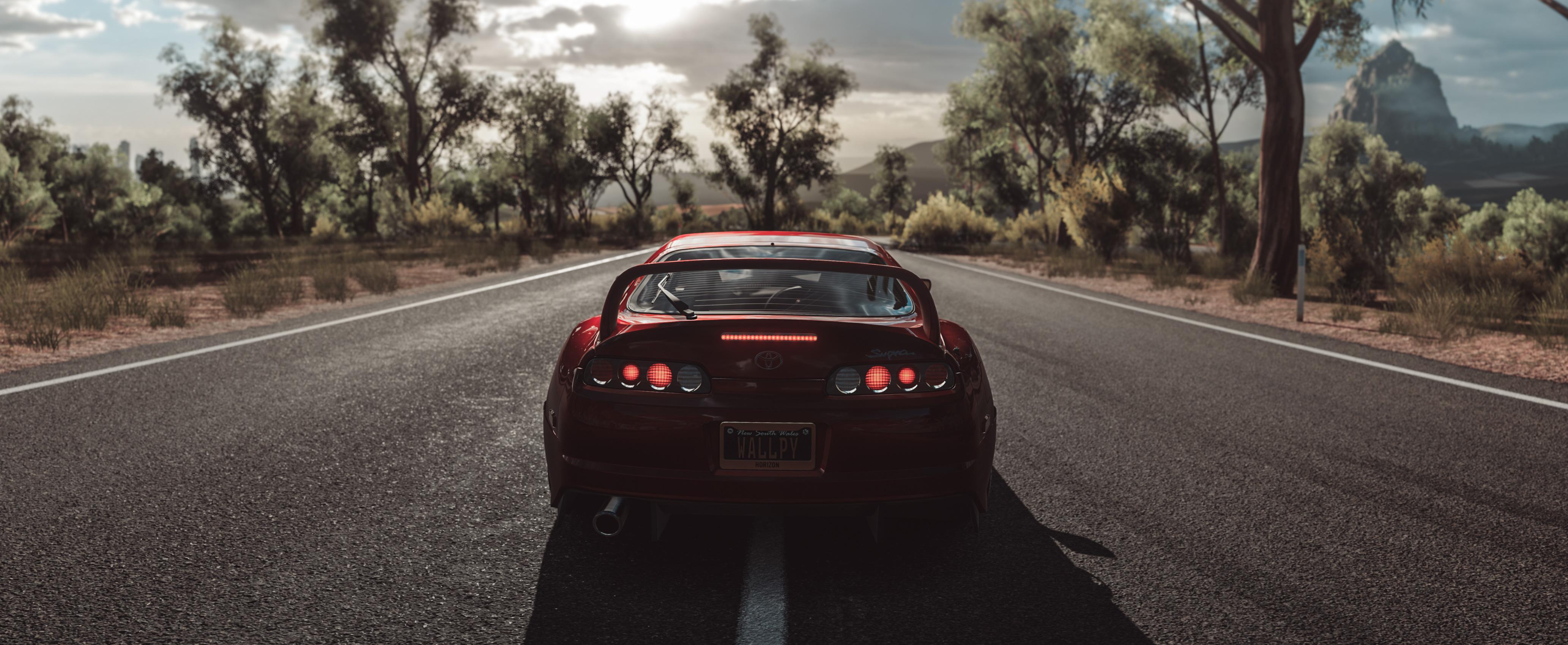 Forza Horizon 3 Toyota Supra Hd Games 4k Wallpapers Images