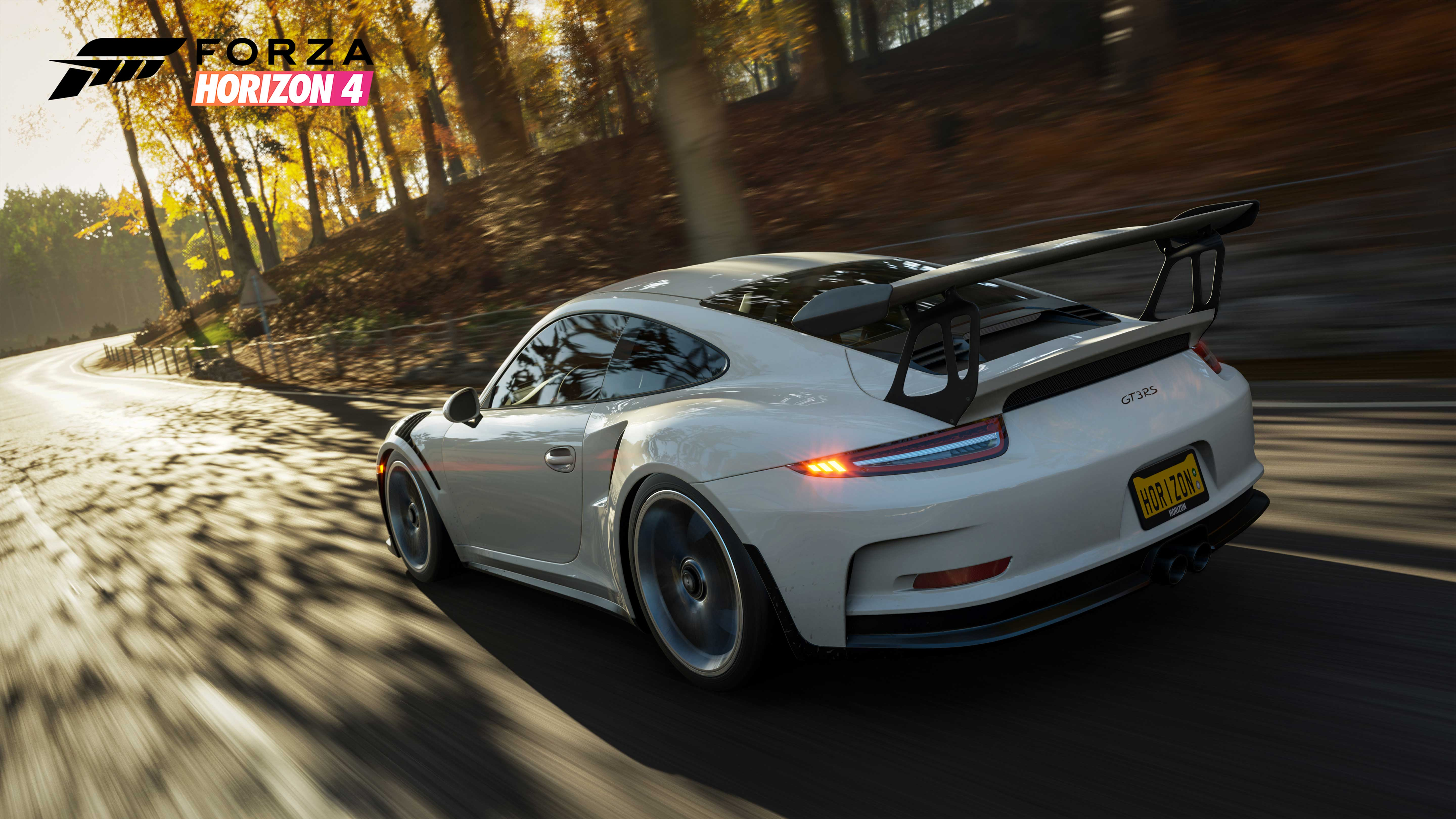 Forza horizon 4 gt3 rs 5k hd games 4k wallpapers images backgrounds photos and pictures - Forza logo wallpaper ...