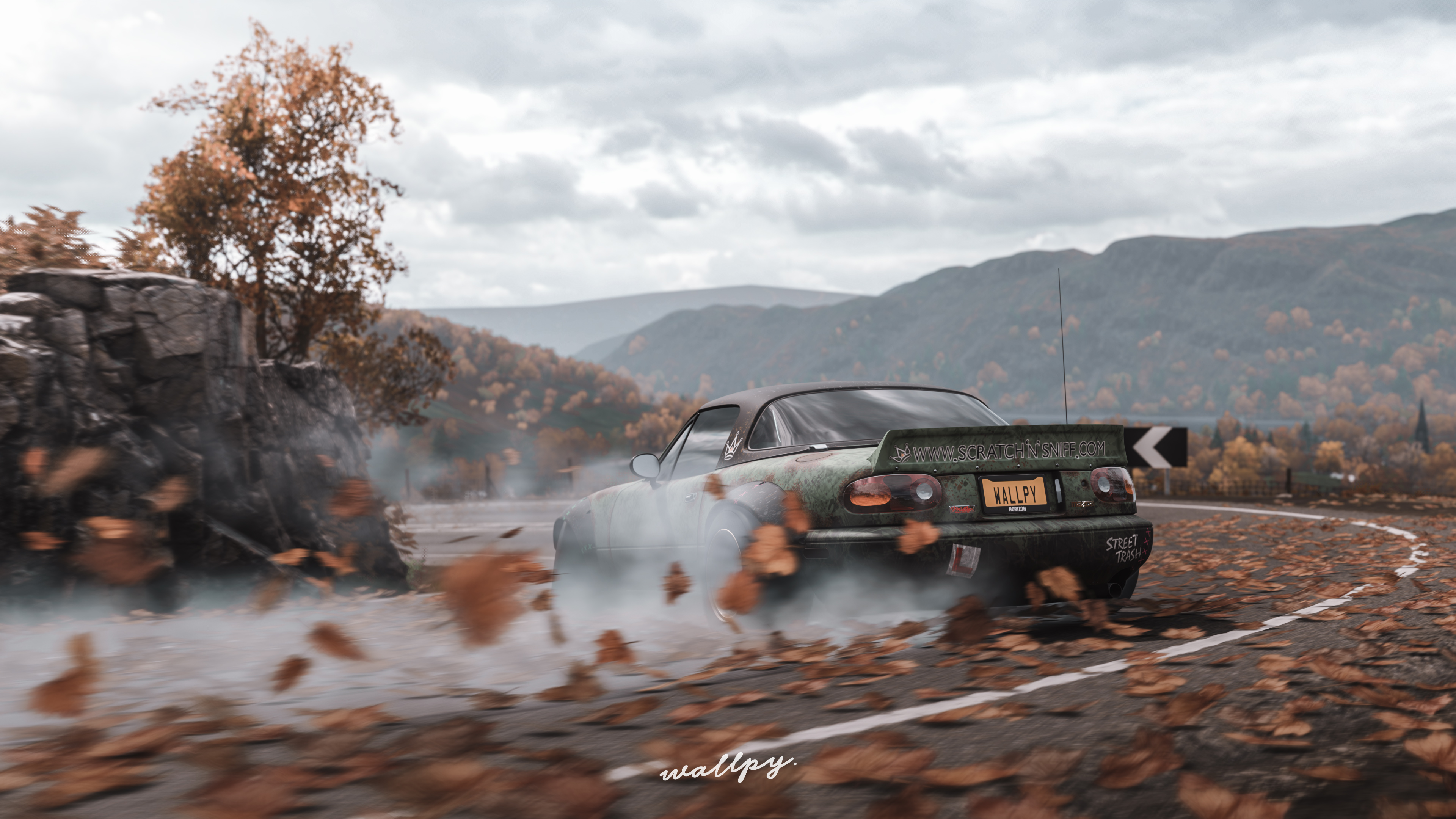 Forza Horizon 4 Wallpaper: Forza Horizon 4 Mazda Drift, HD Games, 4k Wallpapers