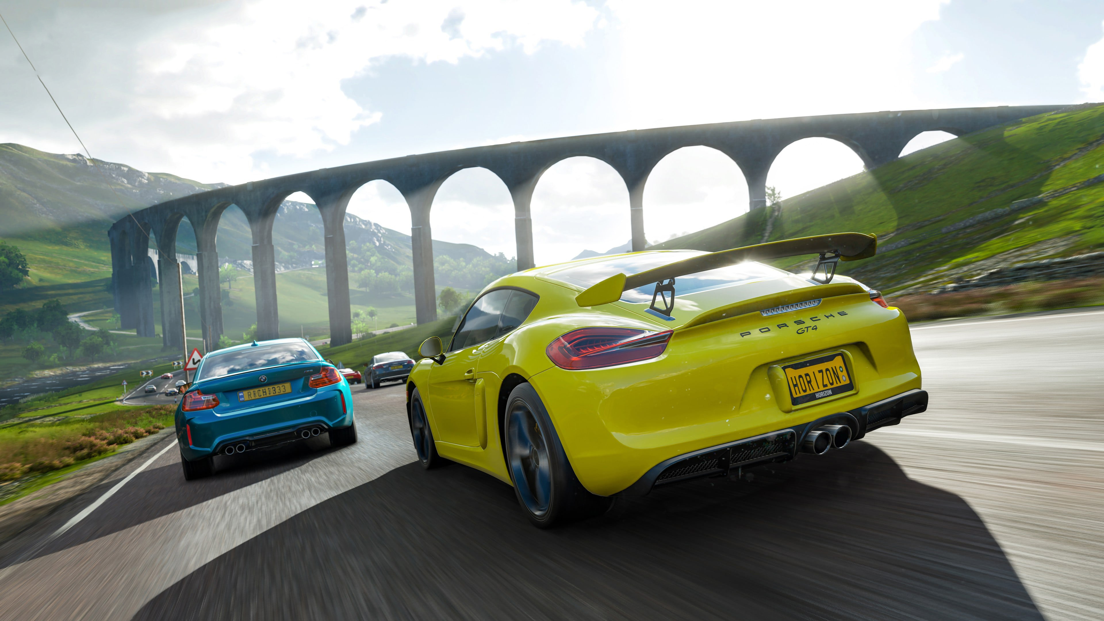 Forza horizon 4 porsche gt4 hd games 4k wallpapers images backgrounds photos and pictures - Forza logo wallpaper ...