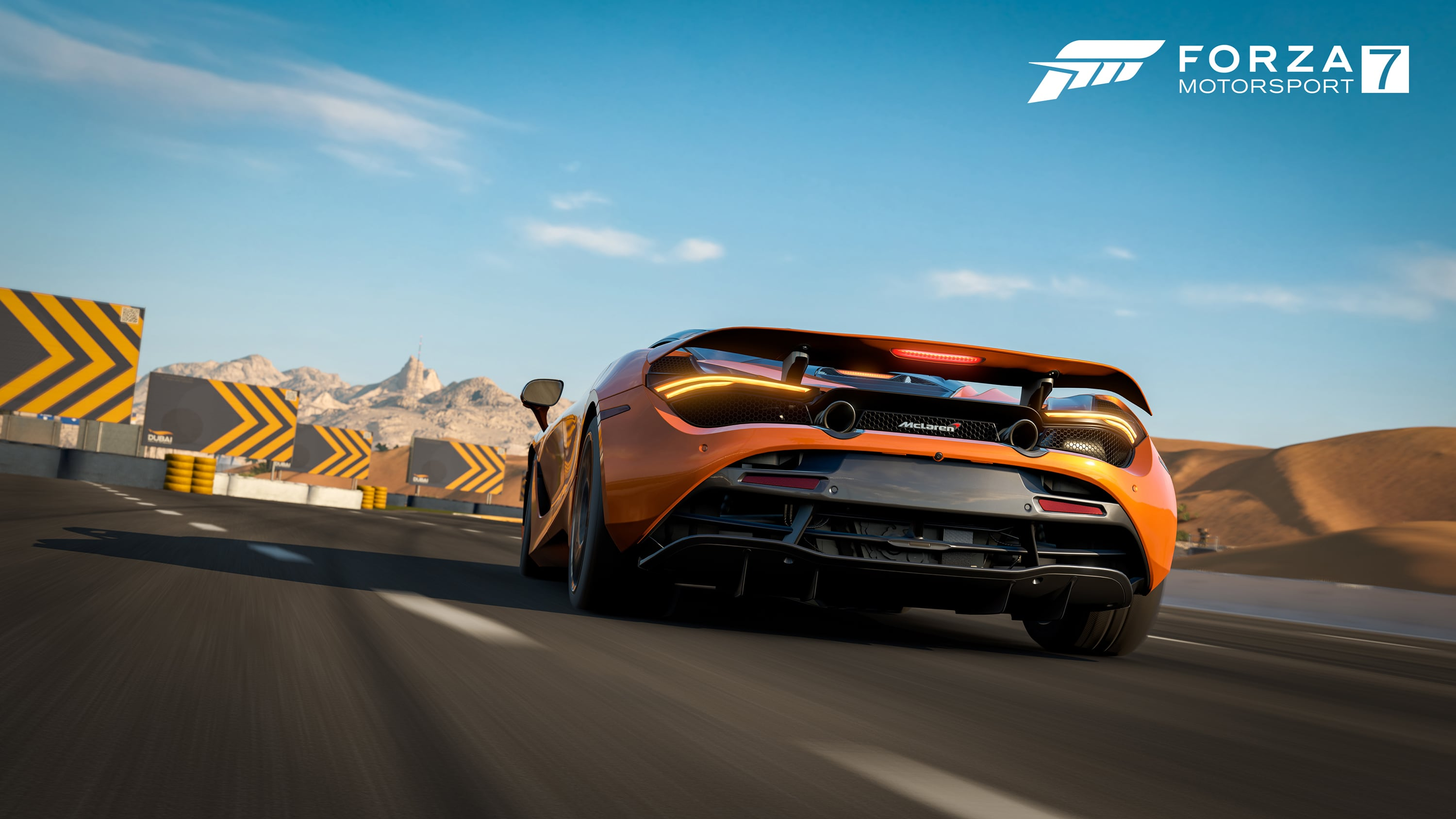 Forza Motorsport 7 Wallpapers Ultra Hd Gaming Backgrounds: Forza Motorsport 7 Mclaren 4k, HD Games, 4k Wallpapers