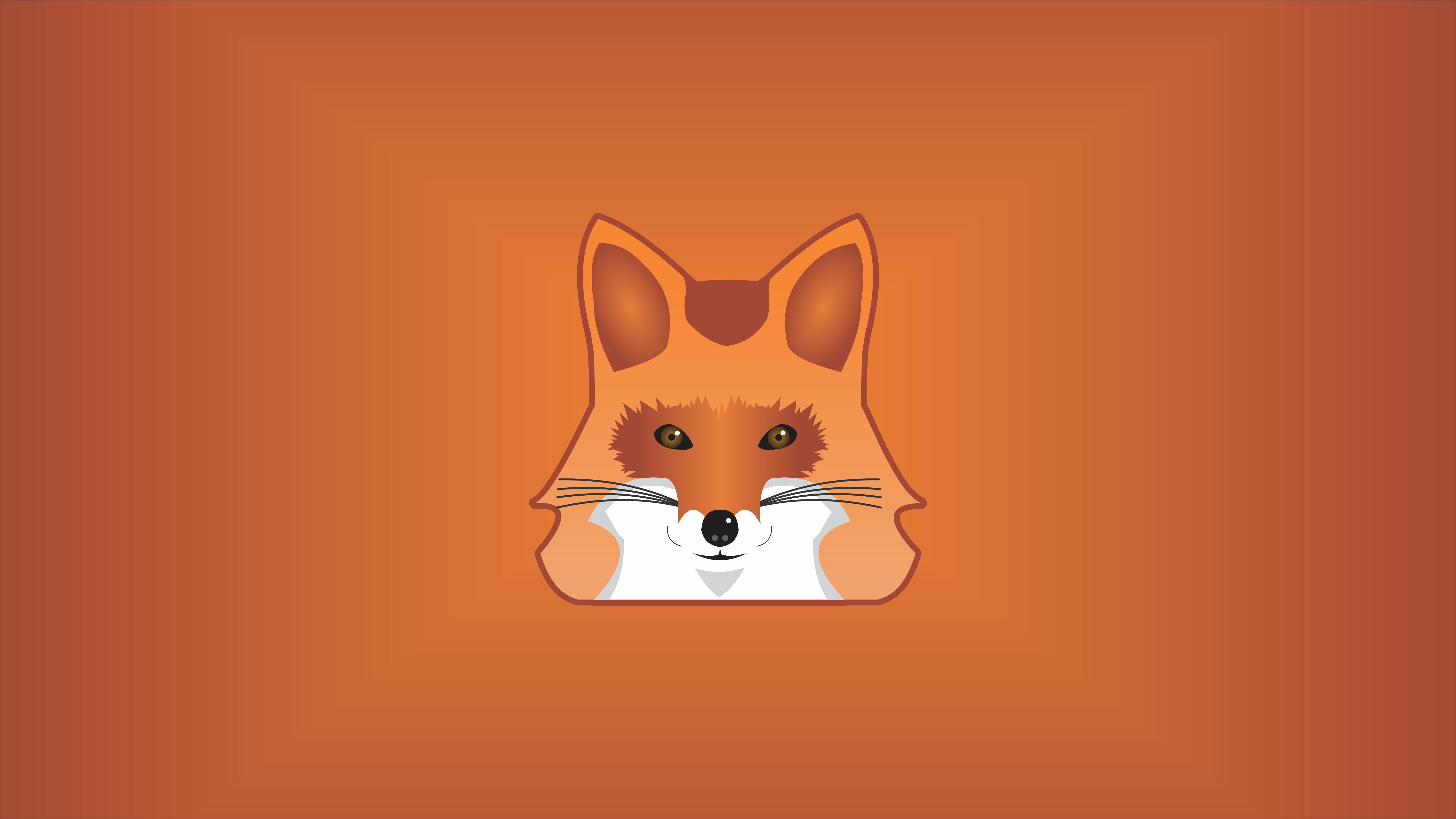 Fox Minimalist 5k Hd Artist 4k Wallpapers Images