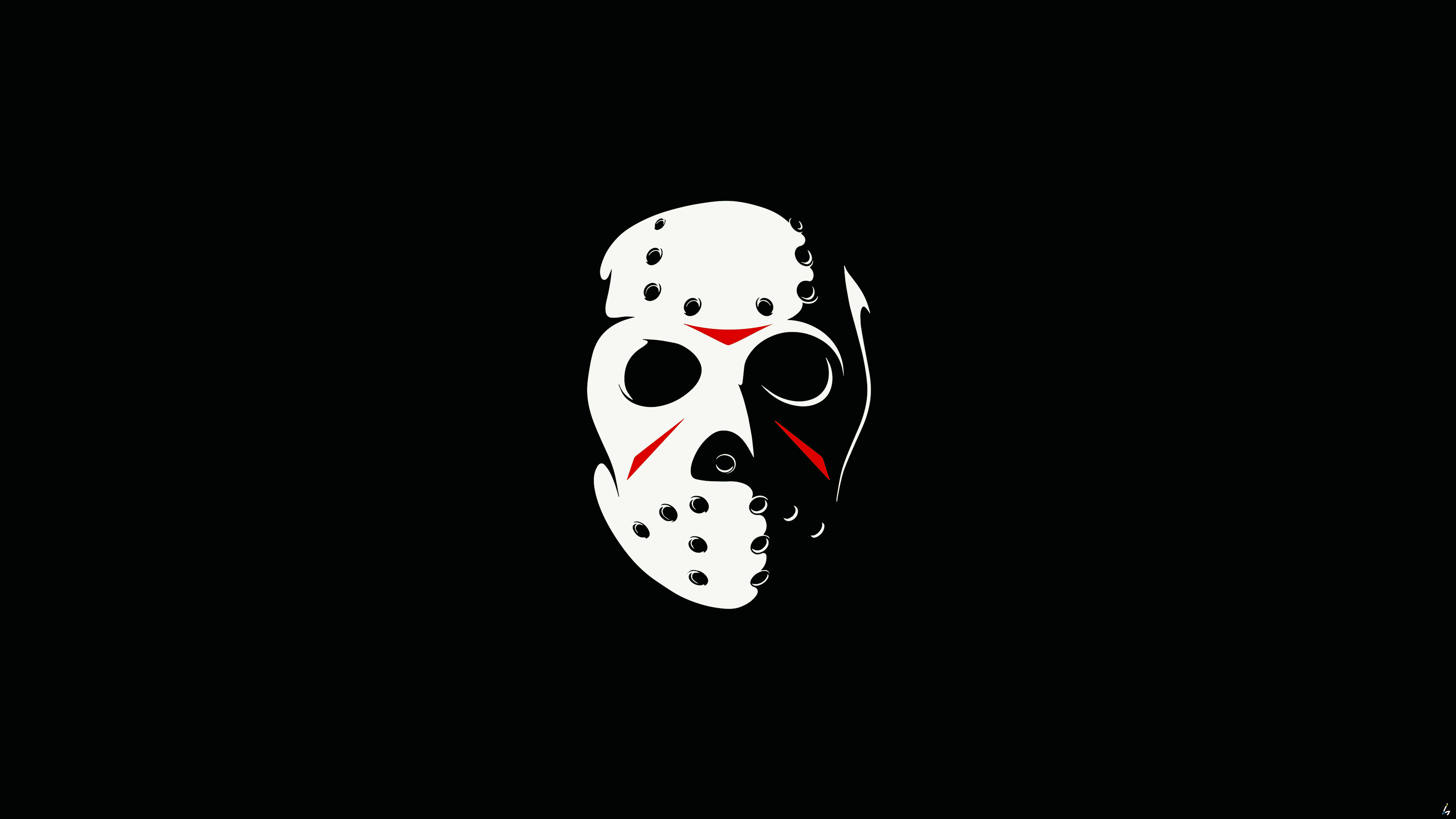 Friday the 13th the game minimalism dark 4k hd games 4k - Friday the thirteenth wallpaper ...