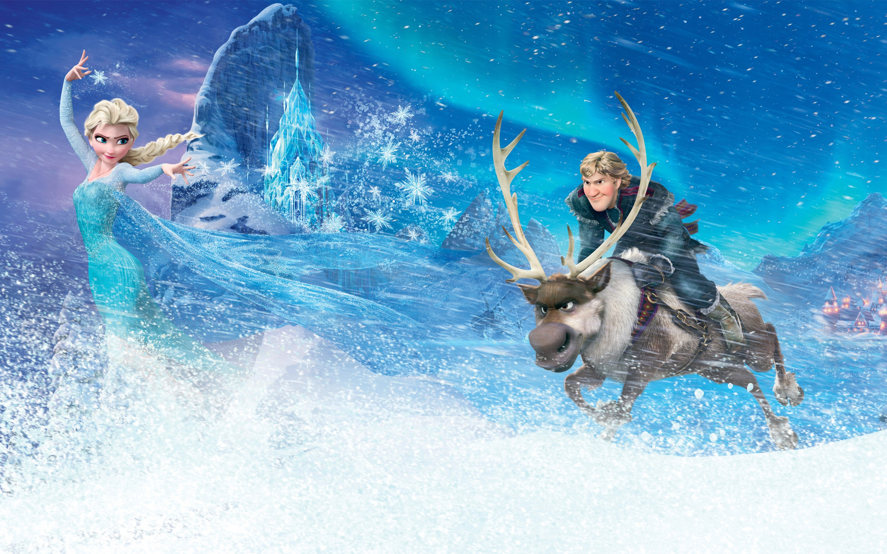 Frozen Movie Kristoff Elsa, HD Movies, 4k Wallpapers ... Disney Frozen Sven Wallpaper