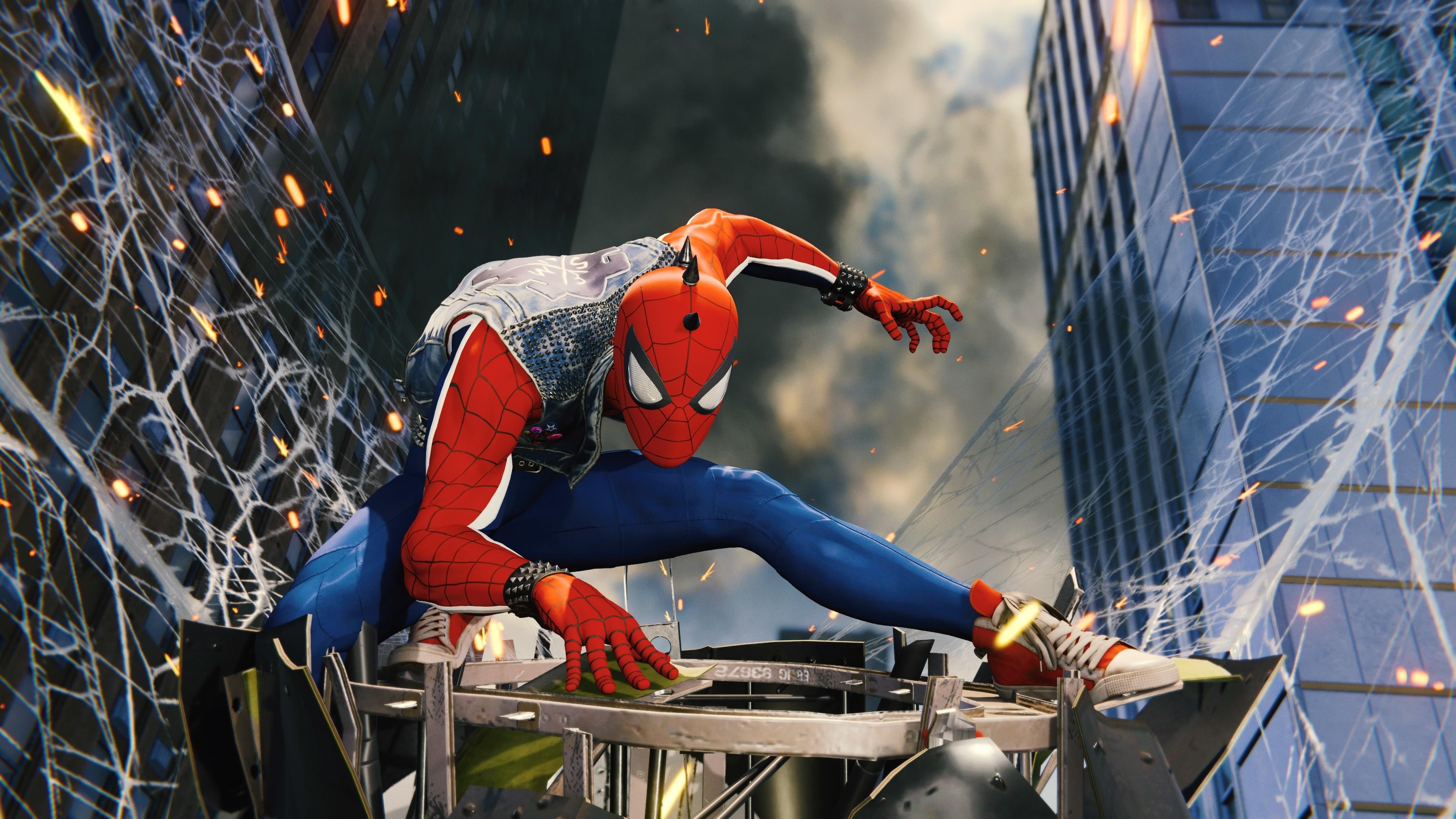 Funky Spiderman Ps4 4k, HD Superheroes, 4k Wallpapers ...