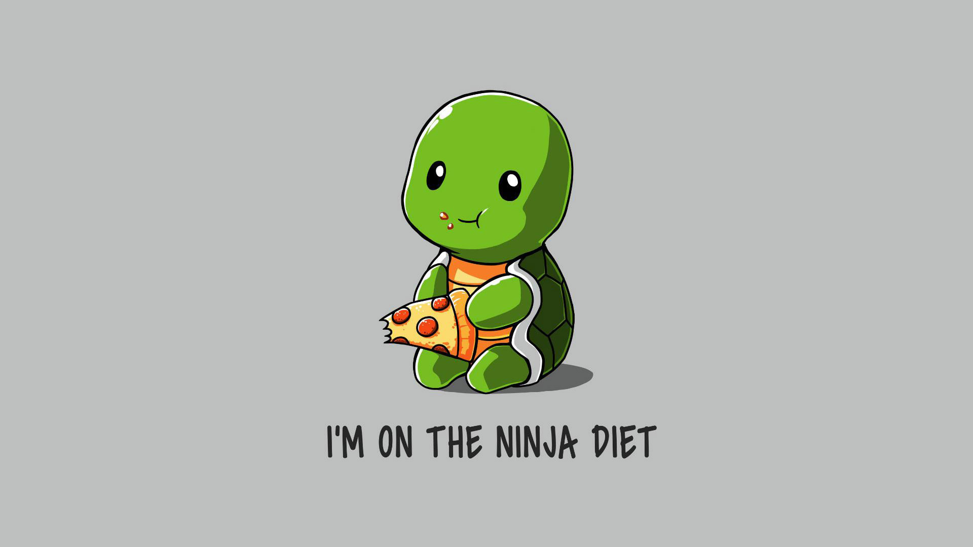 Funny Ninja On Diet Hd Funny 4k Wallpapers Images