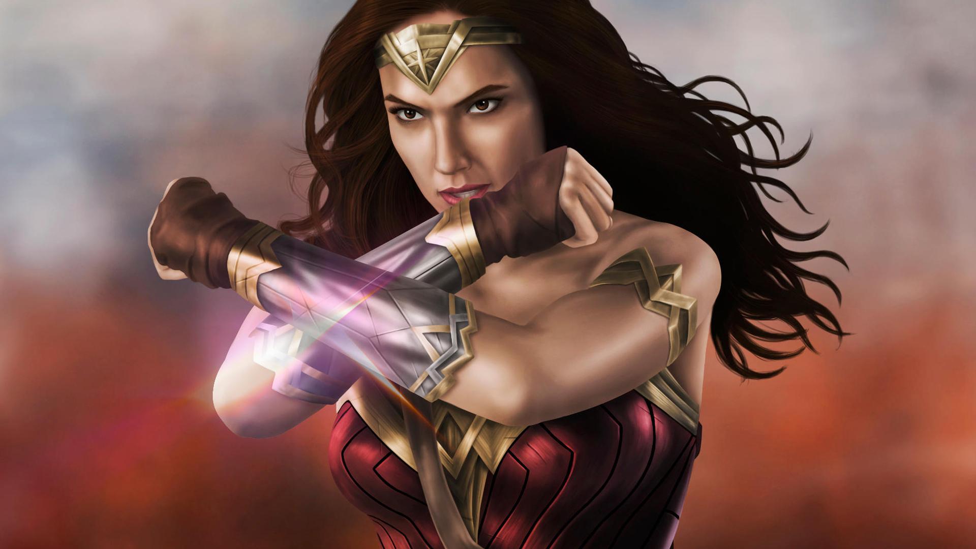 Gal Gadot Wonder Woman New Art Hd Superheroes 4k