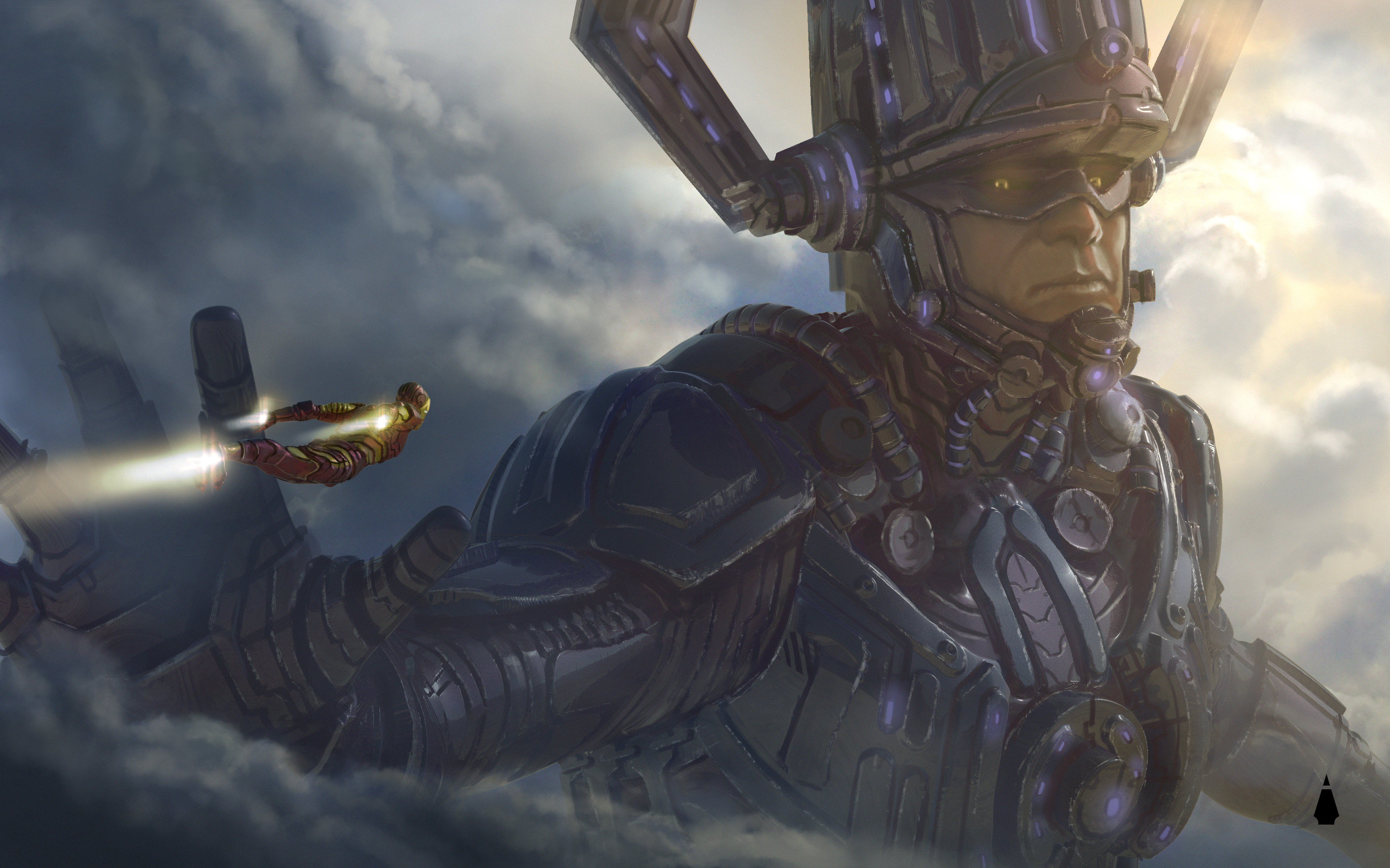 Galactus Vs Iron Man Avengers 4 Concept Art, HD Movies, 4k Wallpapers, Images, Backgrounds