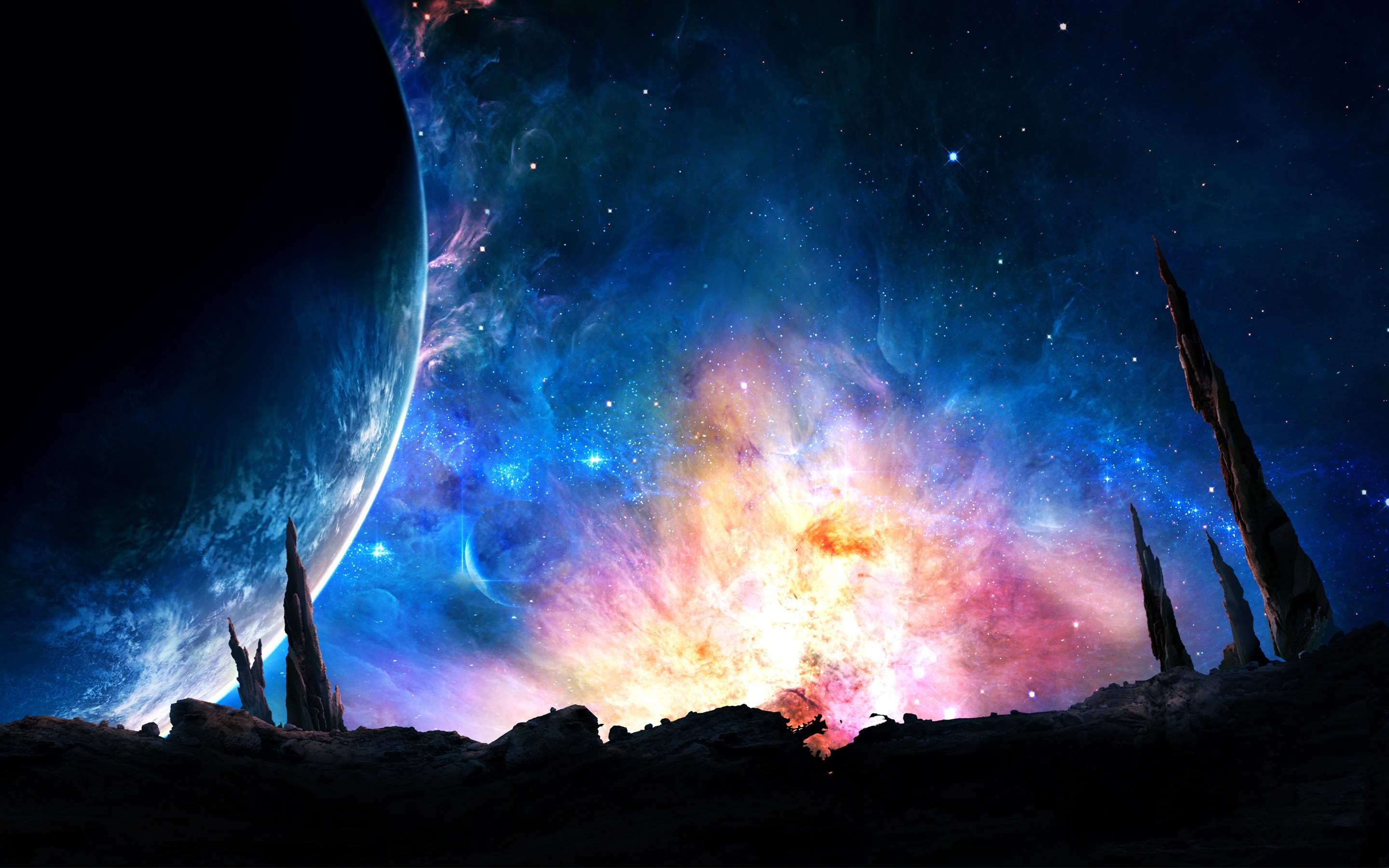 Galaxy Digital Universe Hd Digital Universe 4k Wallpapers Images