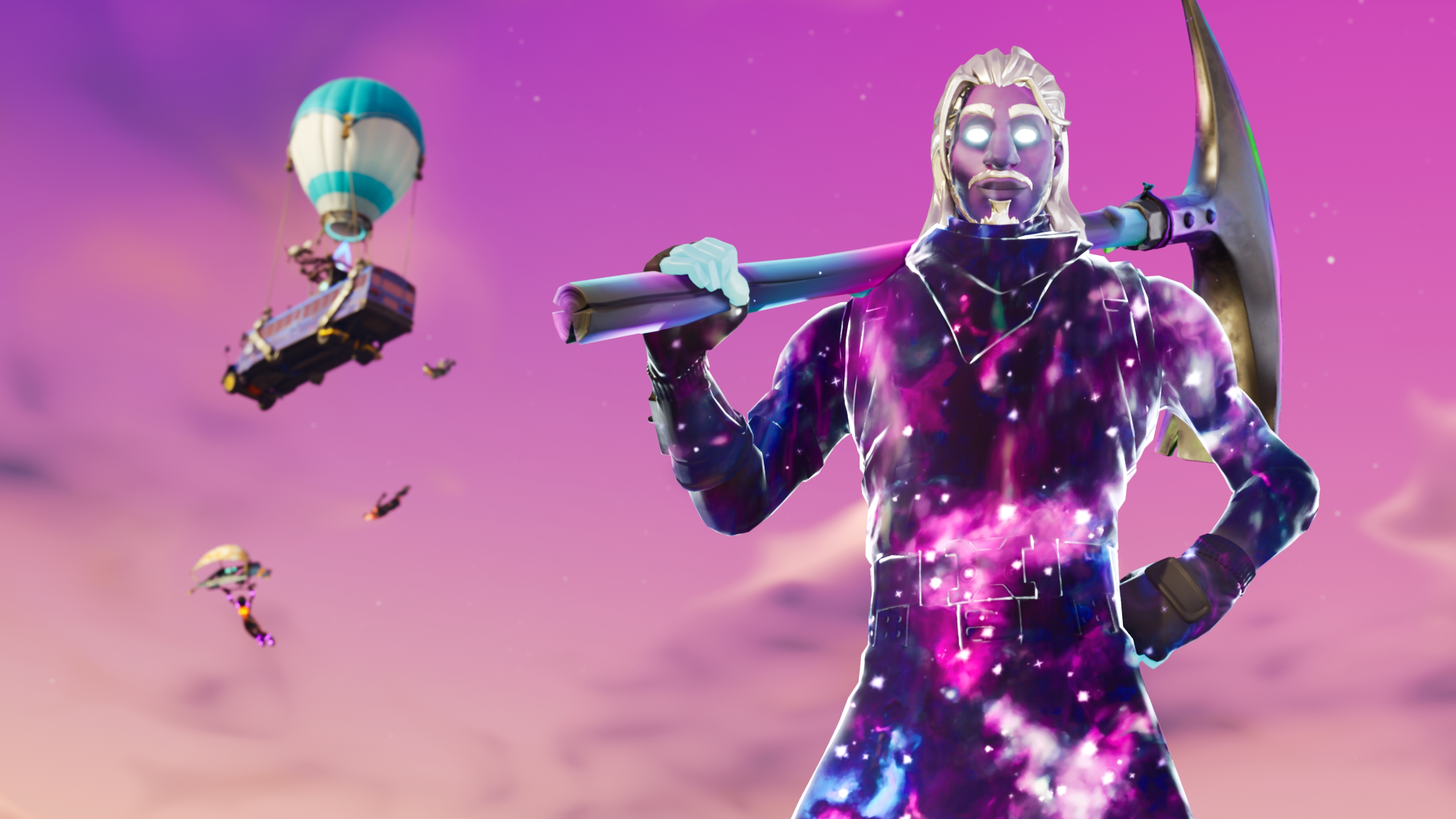1920x1080 Galaxy Man Fortnite Season 6 4K Laptop Full HD
