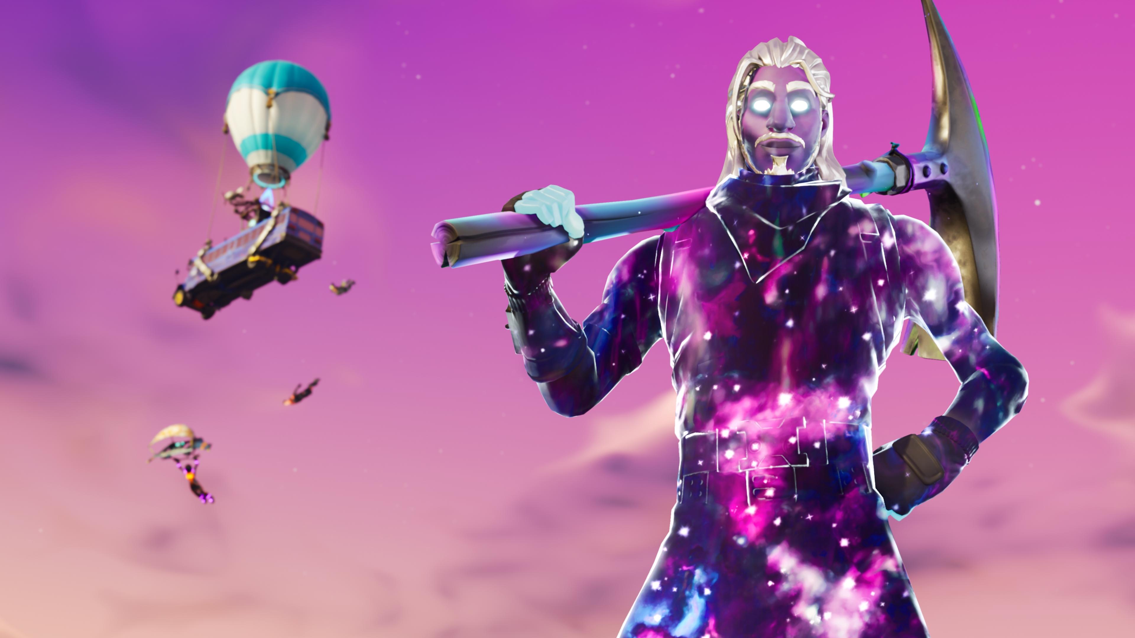 Galaxy Man Fortnite Season 6 4K, HD Games, 4k Wallpapers
